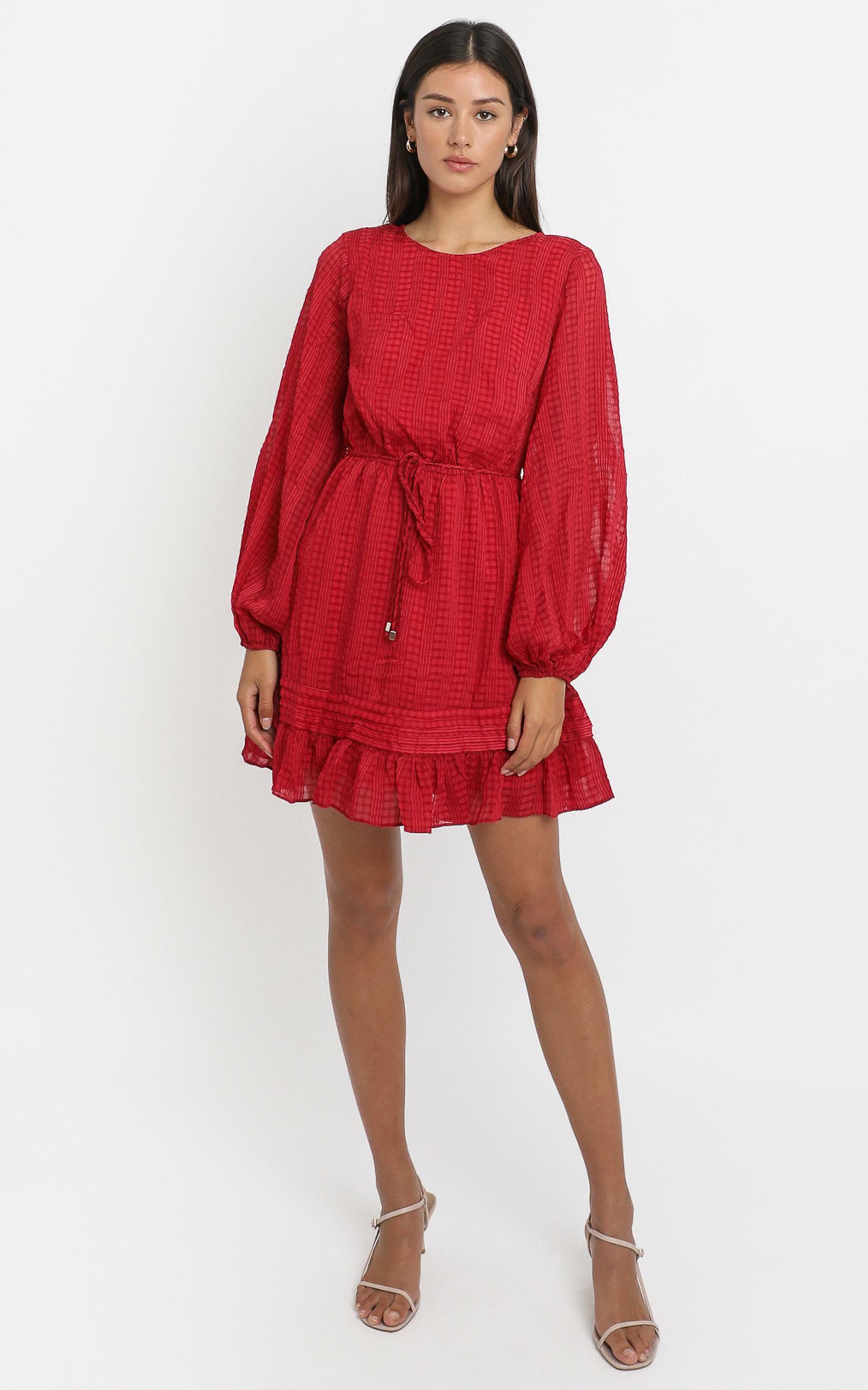 Marlena Dress in Wine - 6 (XS), Wine, hi-res image number null
