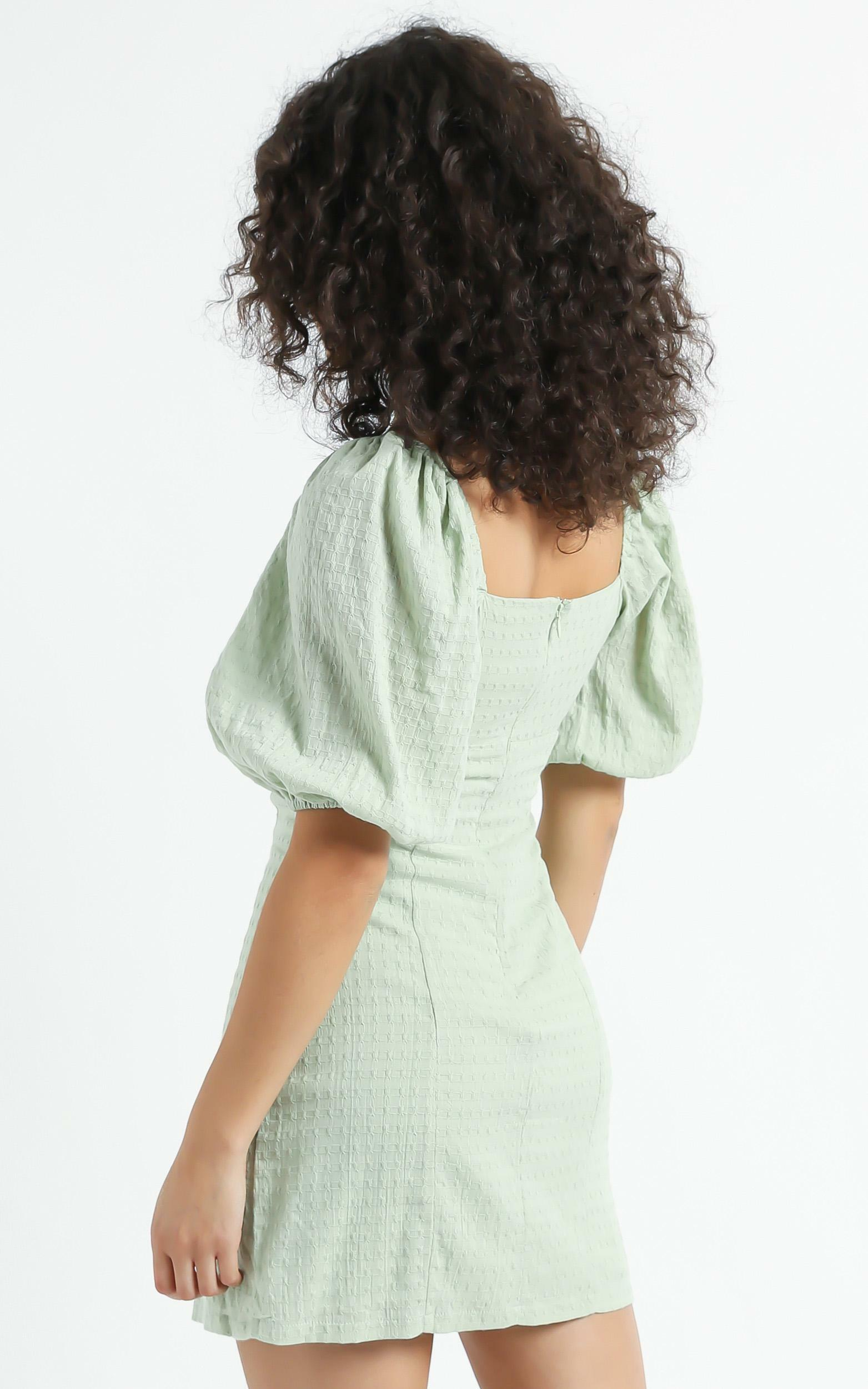 Electric Babe Dress in Sage - 16 (XXL), Sage, hi-res image number null