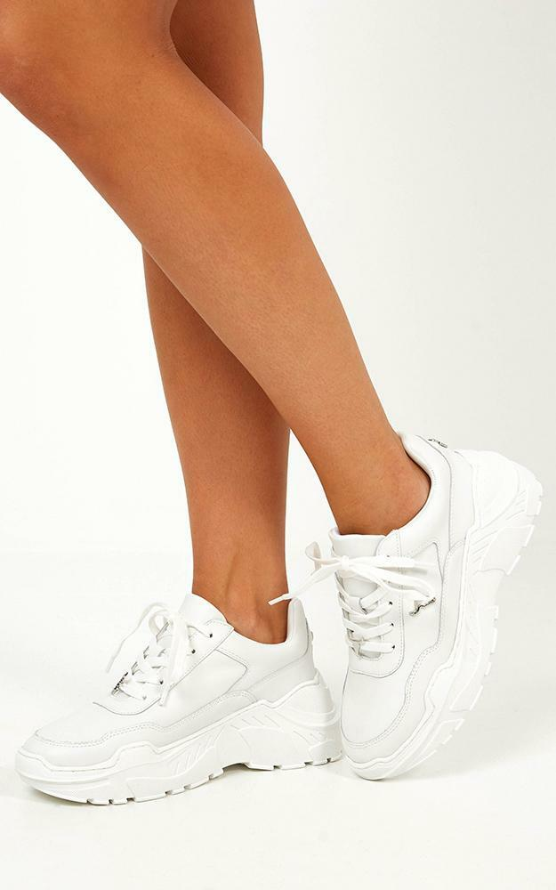 Windsor Smith - Carte Sneakers In White Leather - 5, White, hi-res image number null