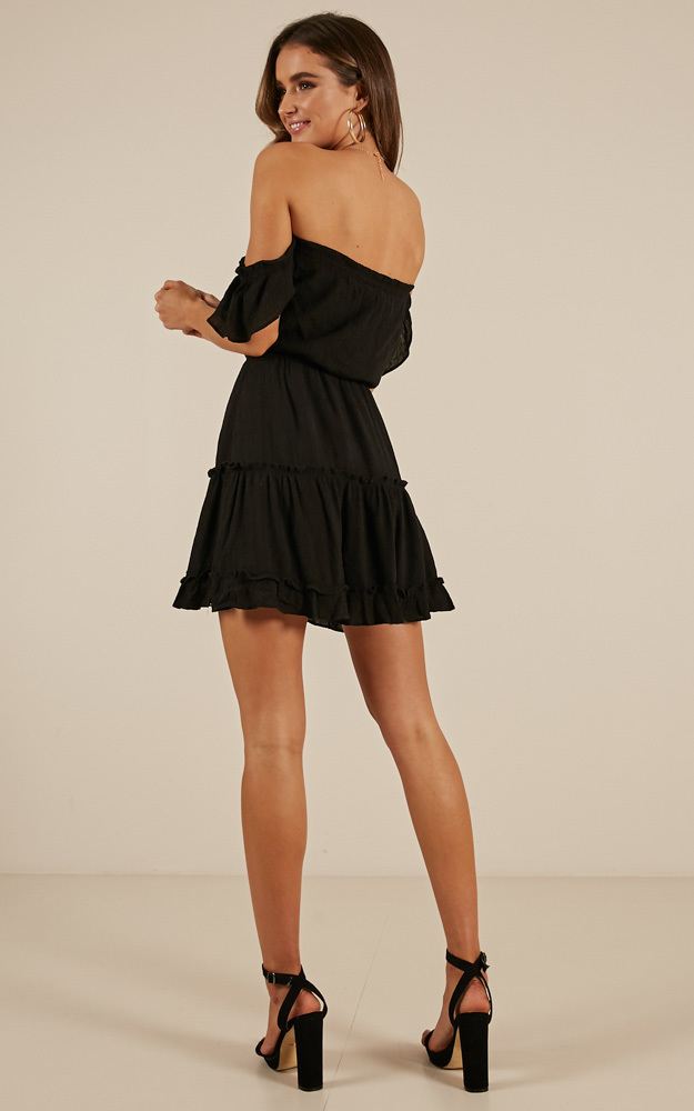 More To It dress in black - 14 (XL), Black, hi-res image number null