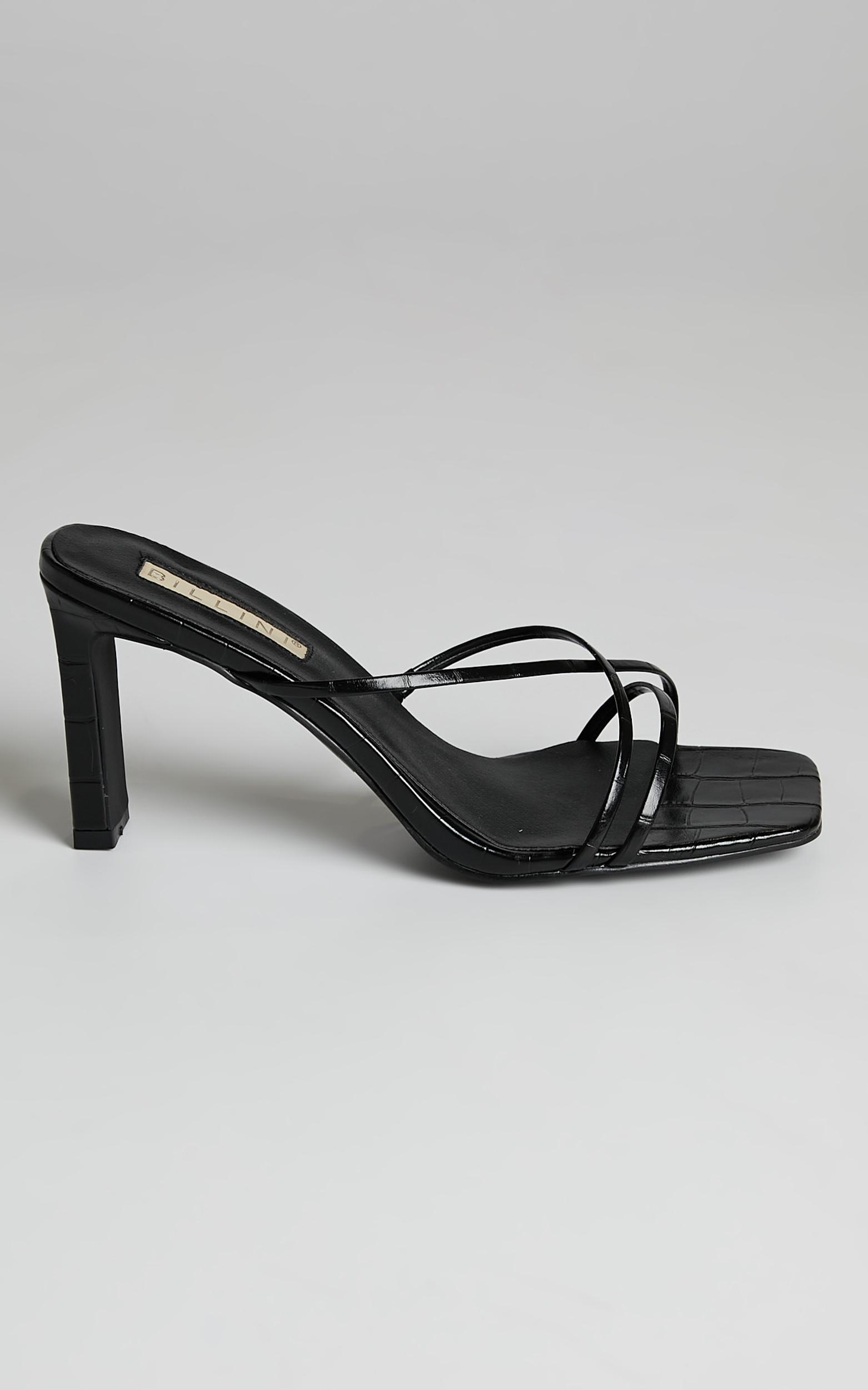 Billini - Oakly Heels in Black Croc - 05, BLK1, hi-res image number null