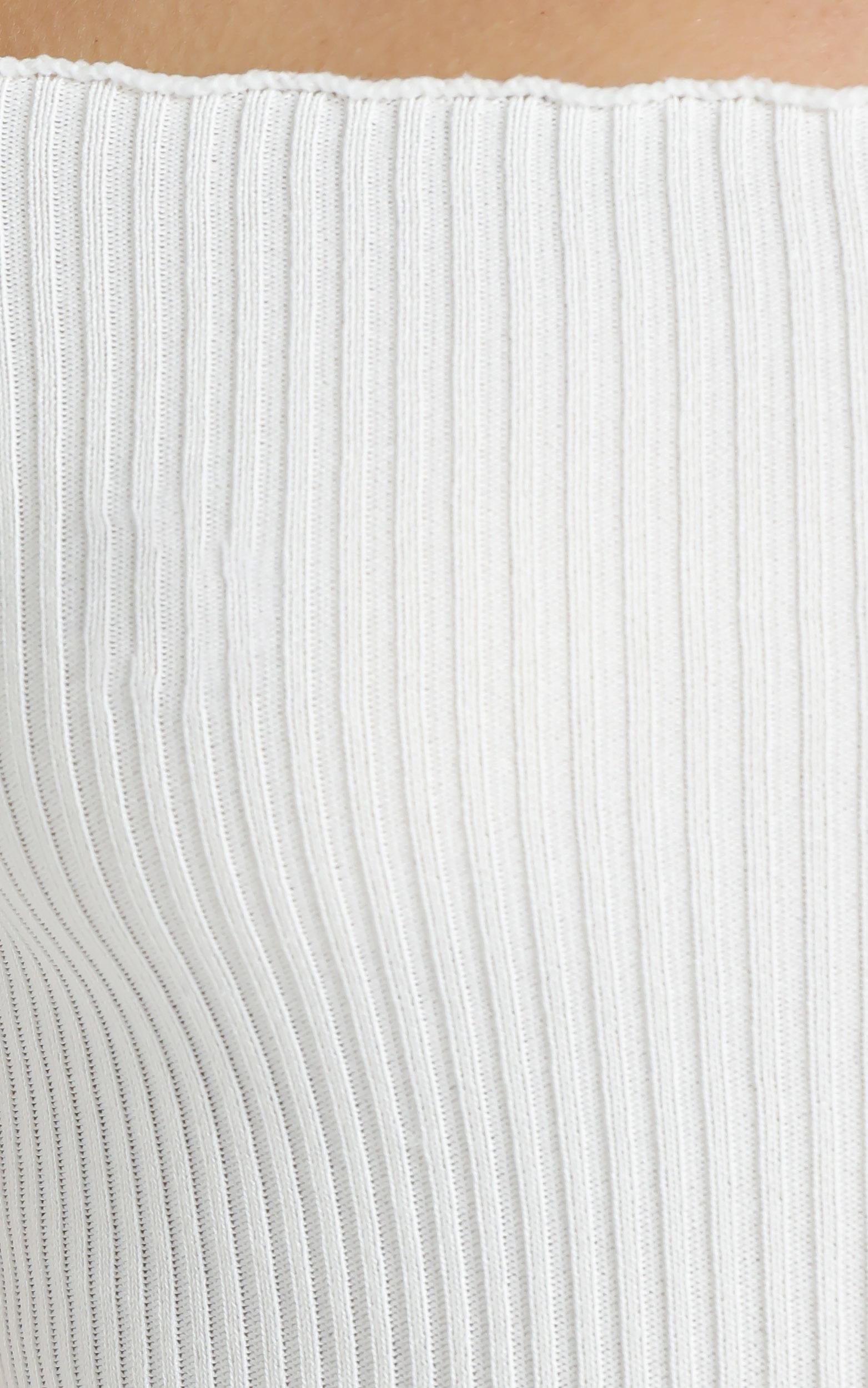 Monty Top in White - 12 (L), White, hi-res image number null