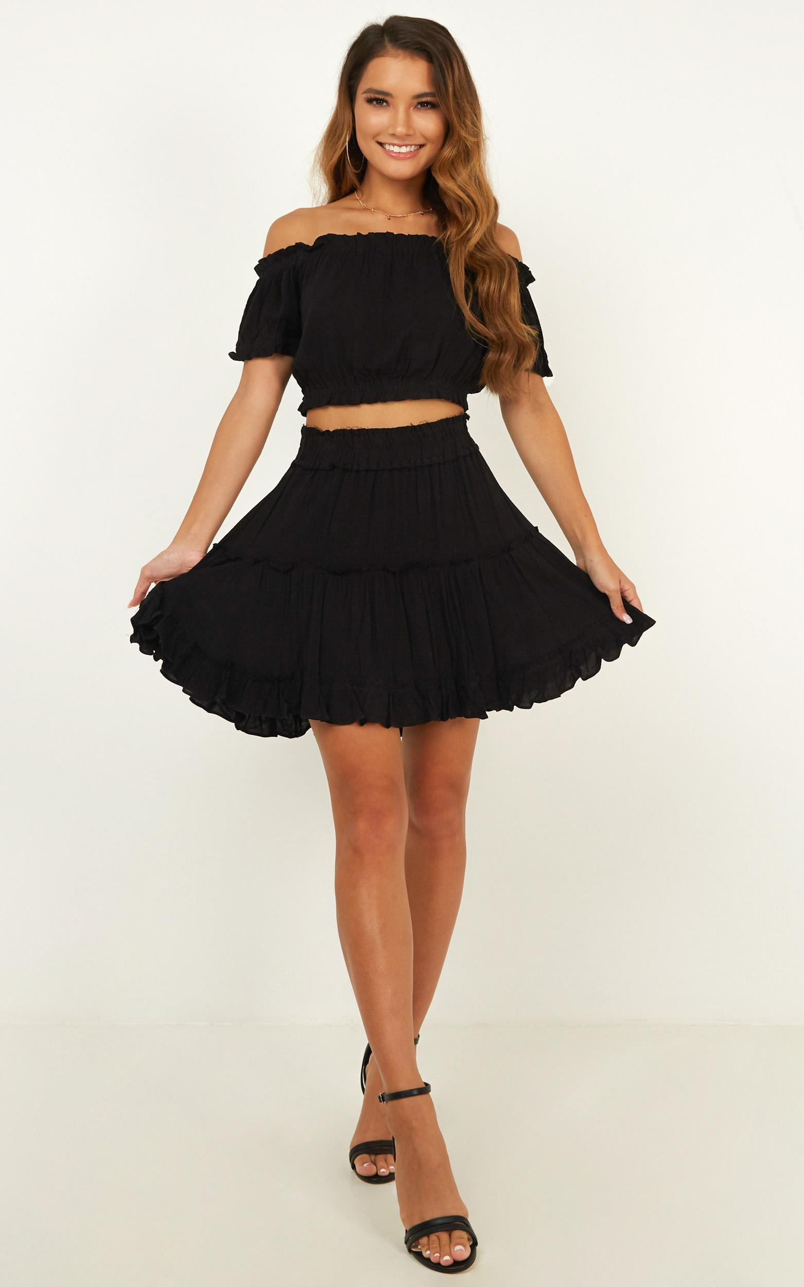 Nobody But You Two Piece Set in black - 12 (L), Black, hi-res image number null