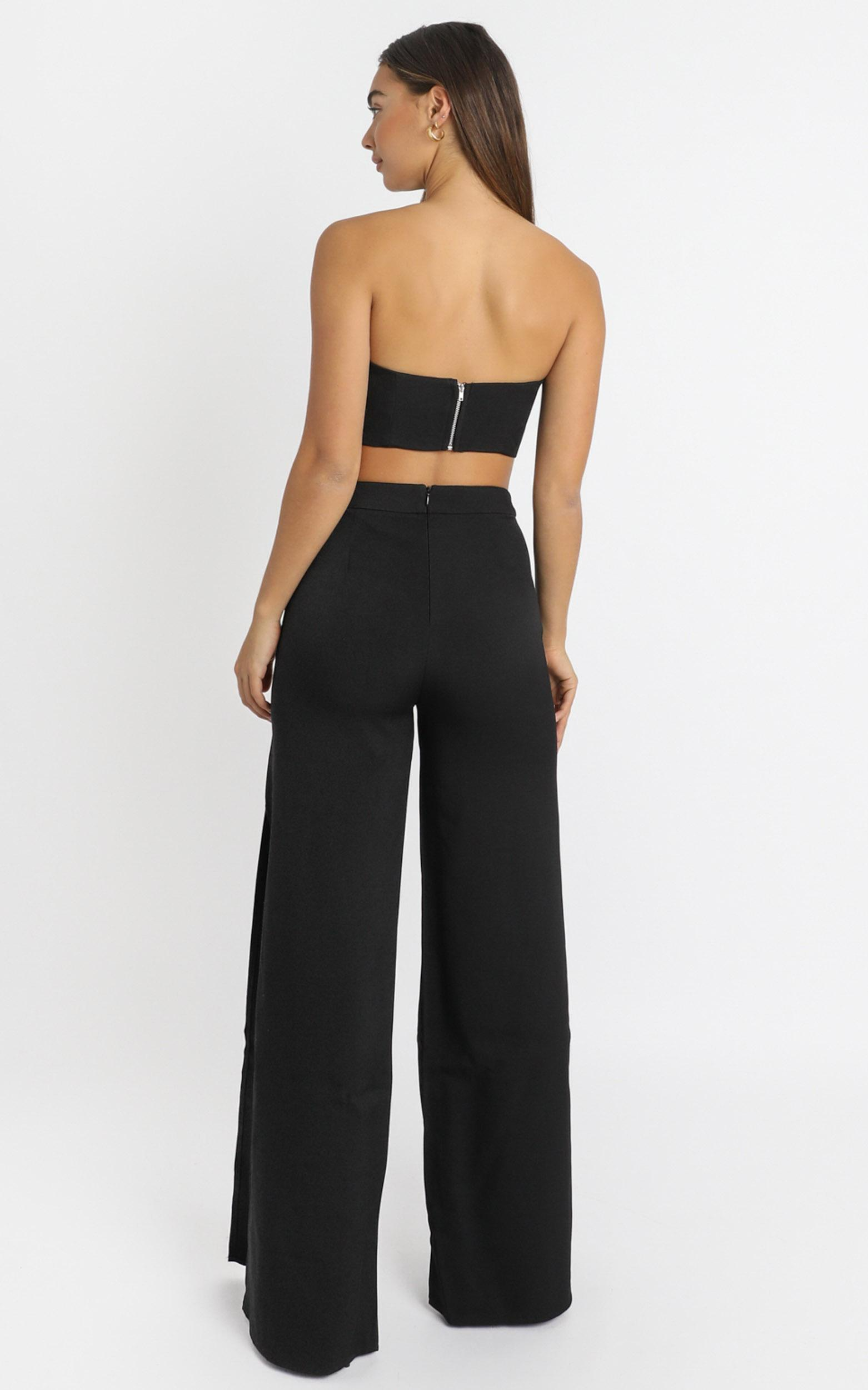 Im The One Two Piece Set in black - 6 (XS), Black, hi-res image number null