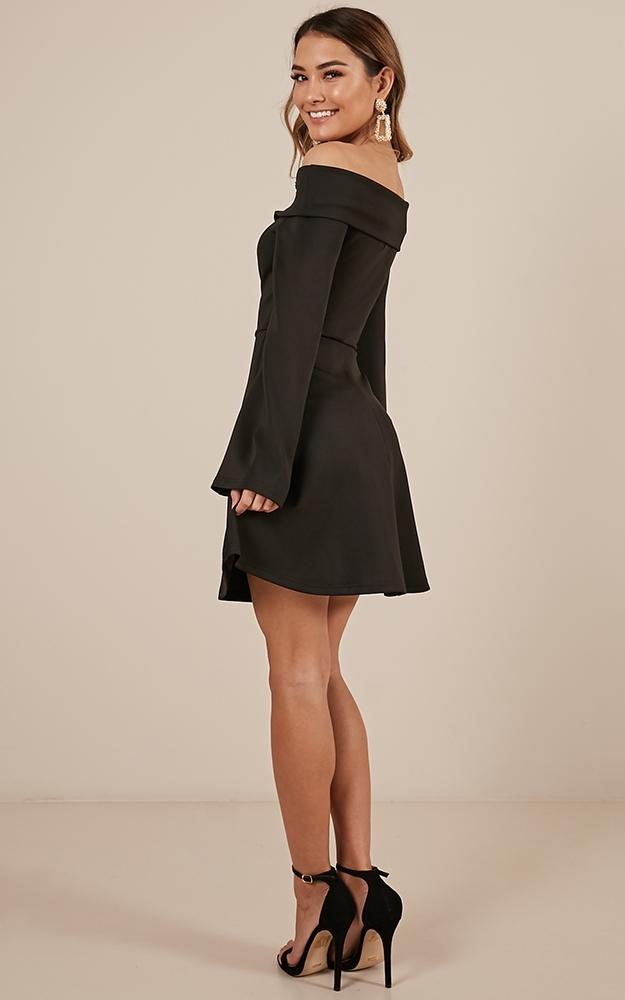 Invite Only Dress in black - 12 (L), Black, hi-res image number null