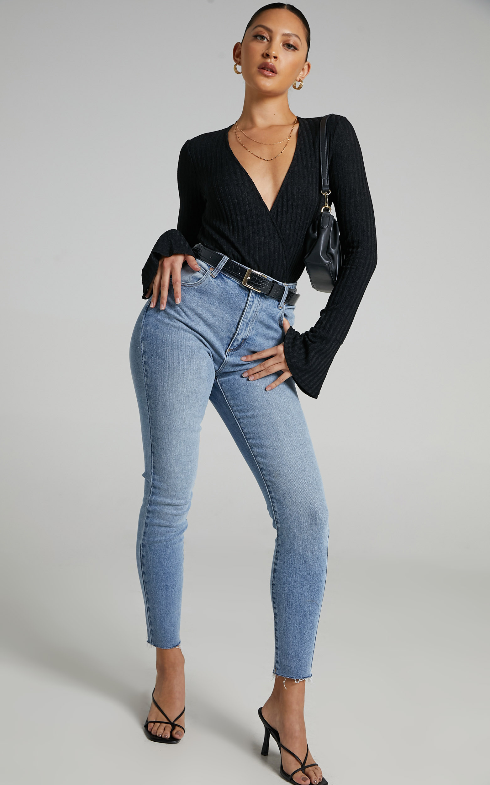 Abrand - A High Skinny Ankle Basher Jean in Brigitte - 06, BLU1, hi-res image number null