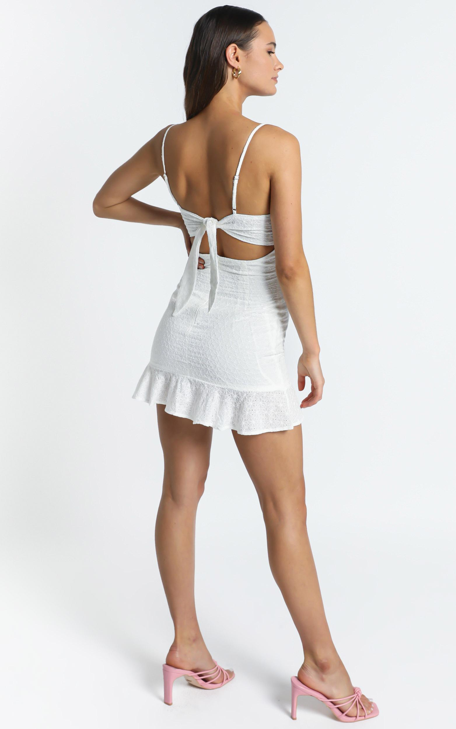 Words To Me Dress in white - 12 (L), White, hi-res image number null