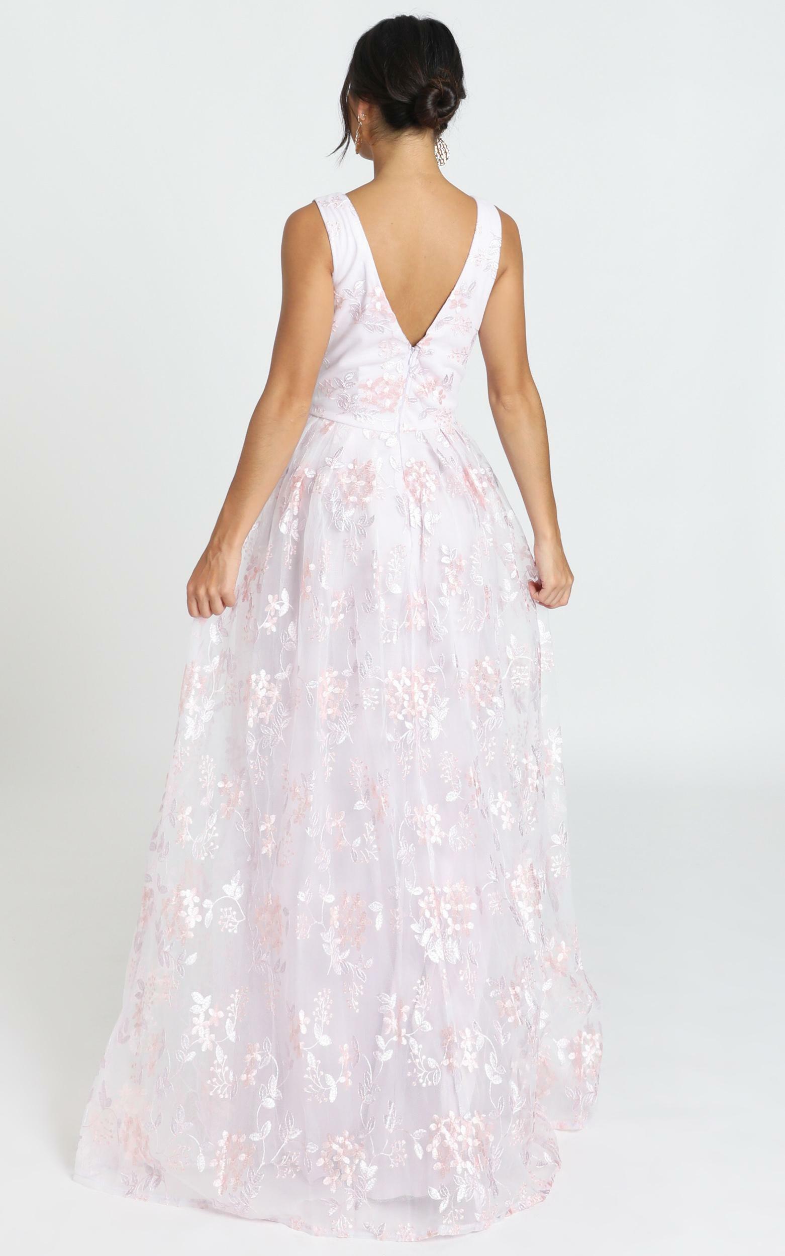 Detroit Maxi Dress in lavender - 12 (L), Purple, hi-res image number null
