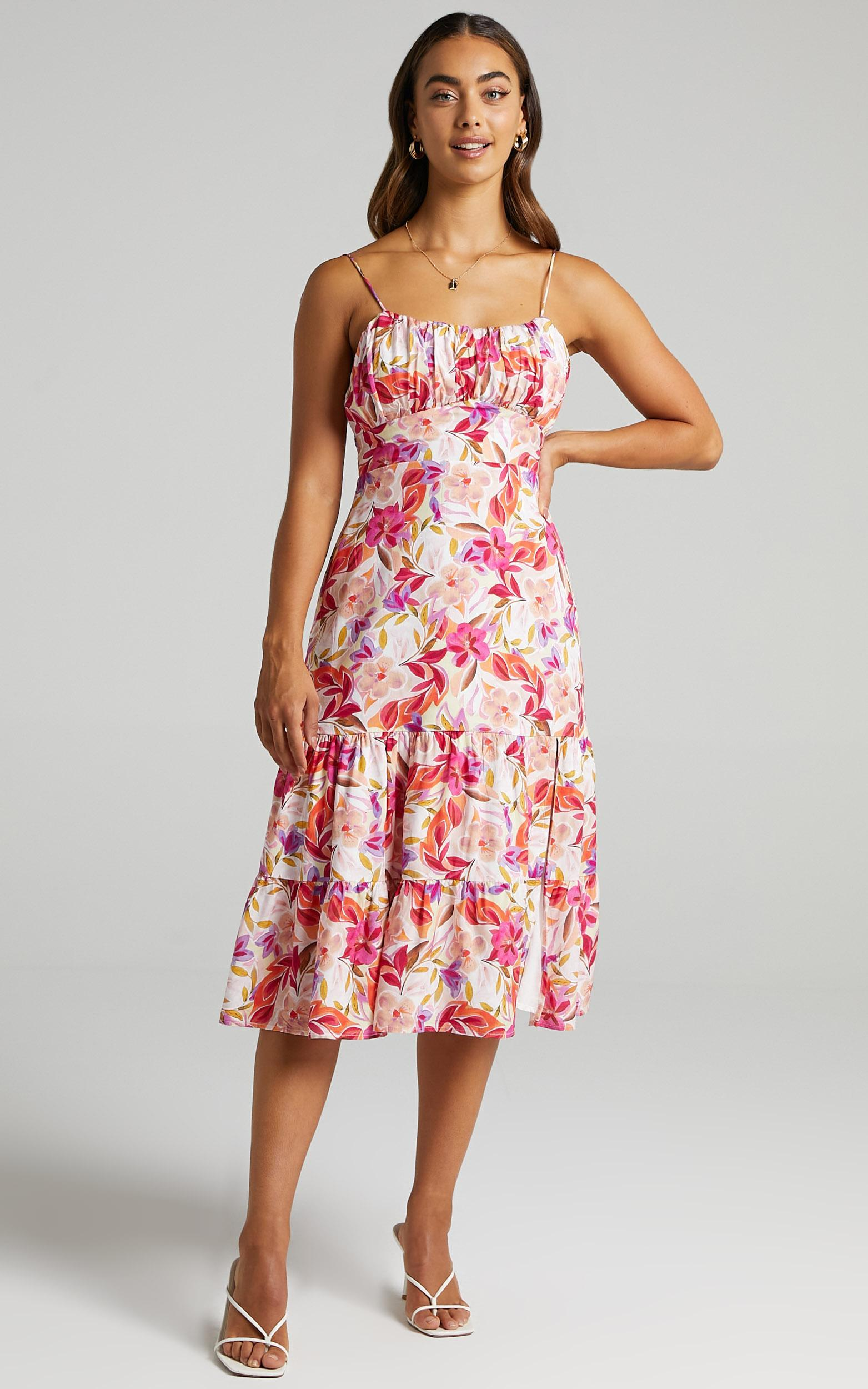Monico Dress in Eventful Bloom - 6 (XS), PNK29, hi-res image number null