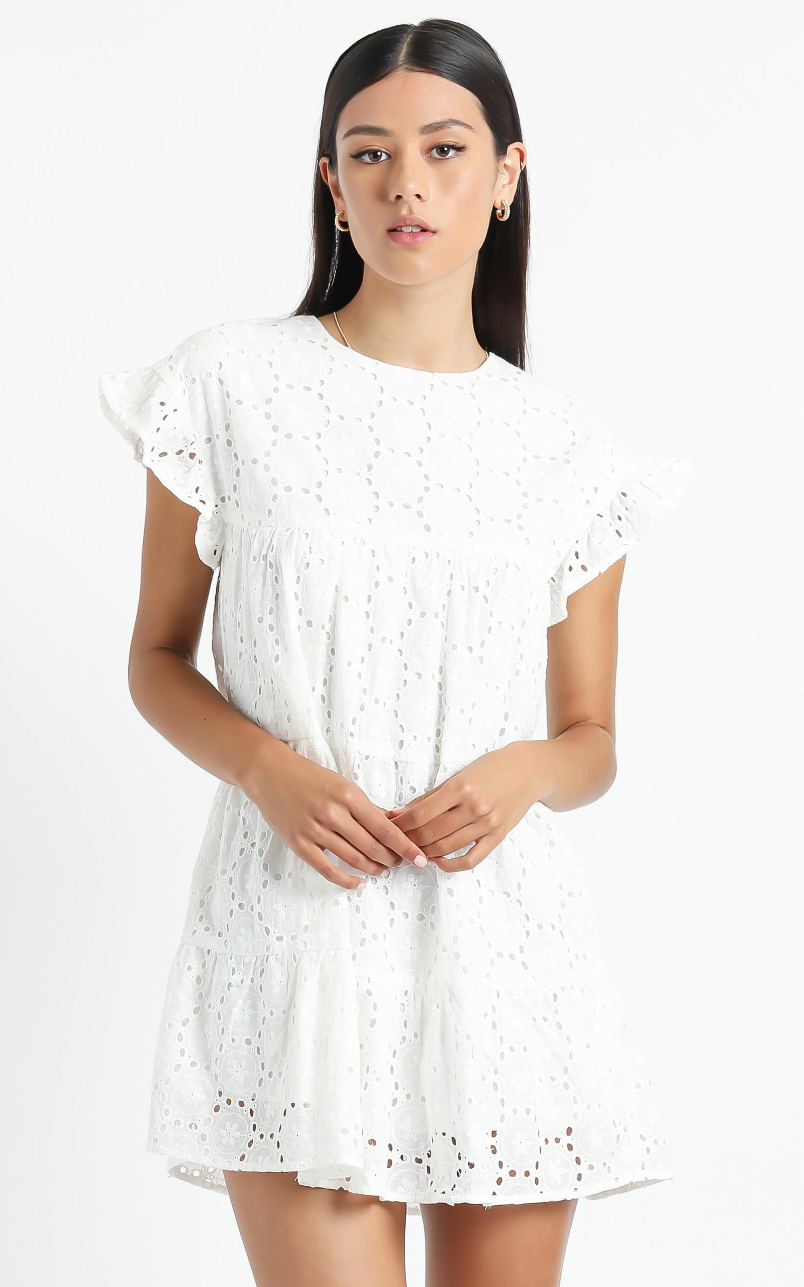 If I Want To dress in white - 8 (S), White, hi-res image number null