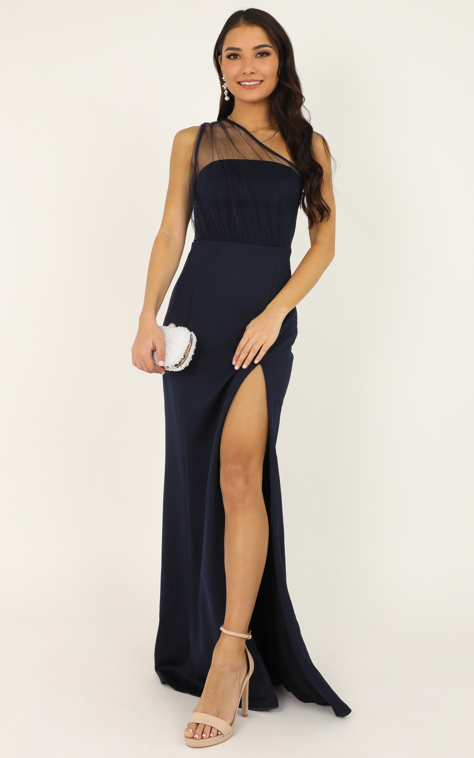 Proposing love dress in navy - 20 (XXXXL), Navy, hi-res image number null