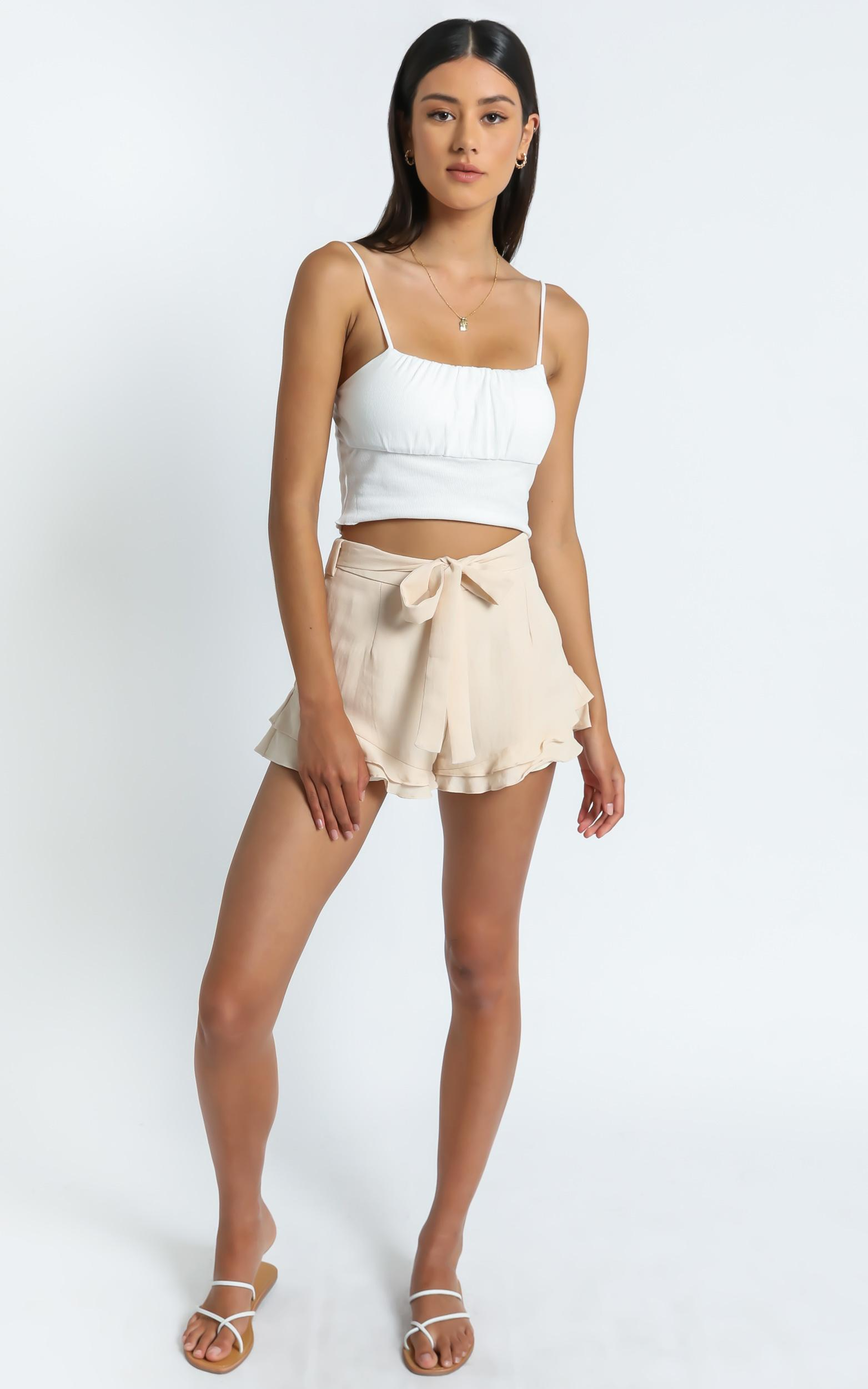Julieta Top in White - S/M, White, hi-res image number null
