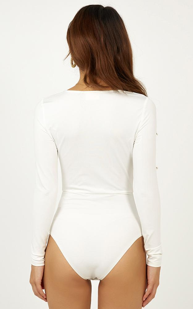 Rough and Tumble Bodysuit in white - 12 (L), White, hi-res image number null
