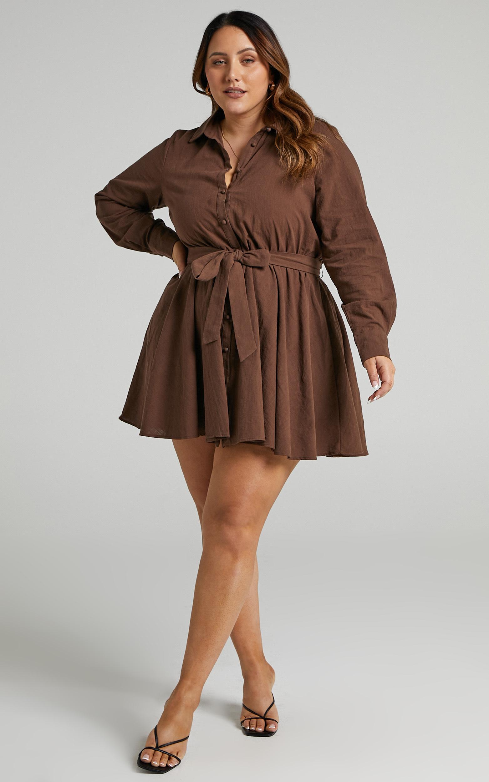 Ciri Dress in Chocolate - 04, BRN3, hi-res image number null