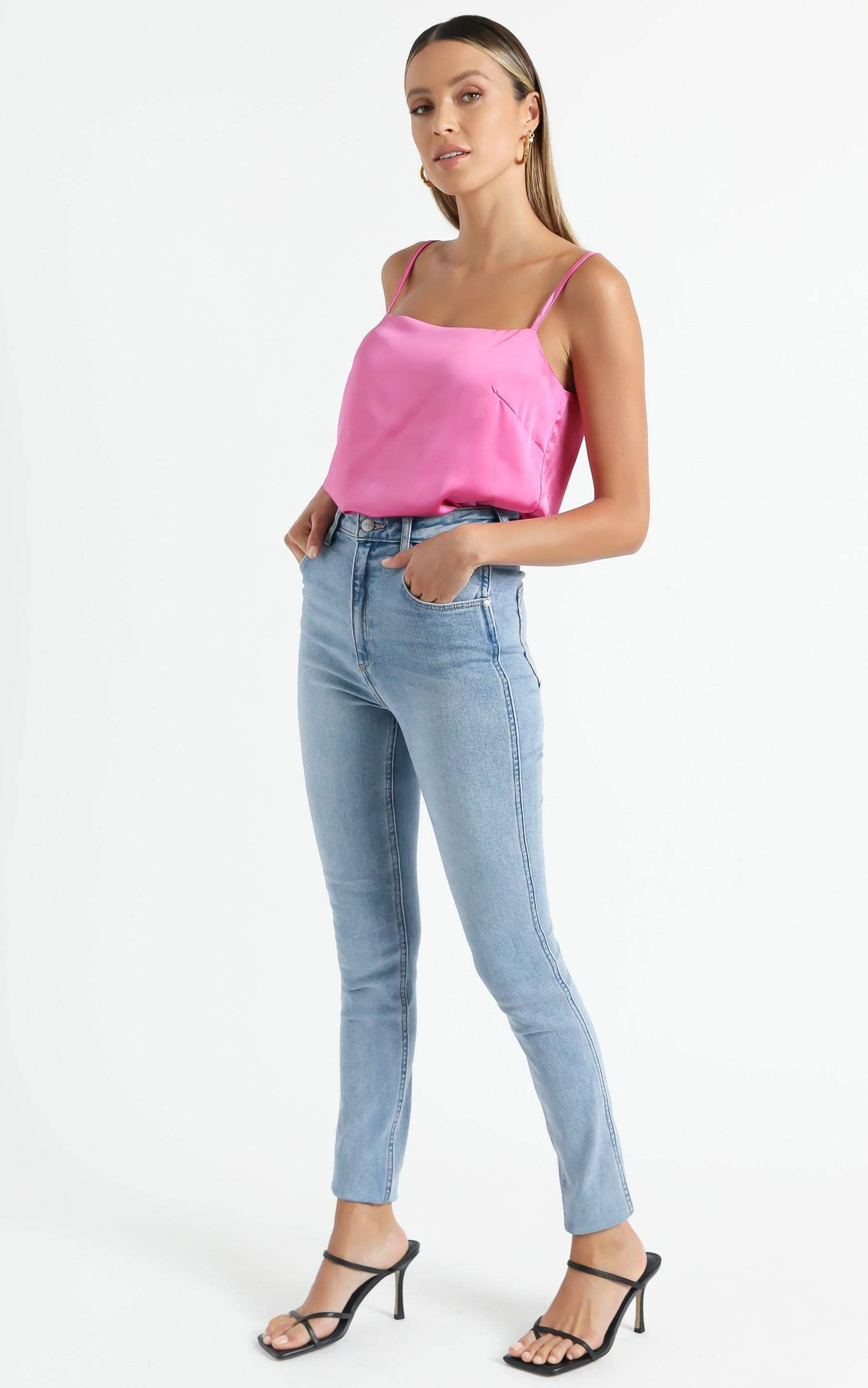 Sooner Or Later Top in Pink - 6 (XS), Pink, hi-res image number null