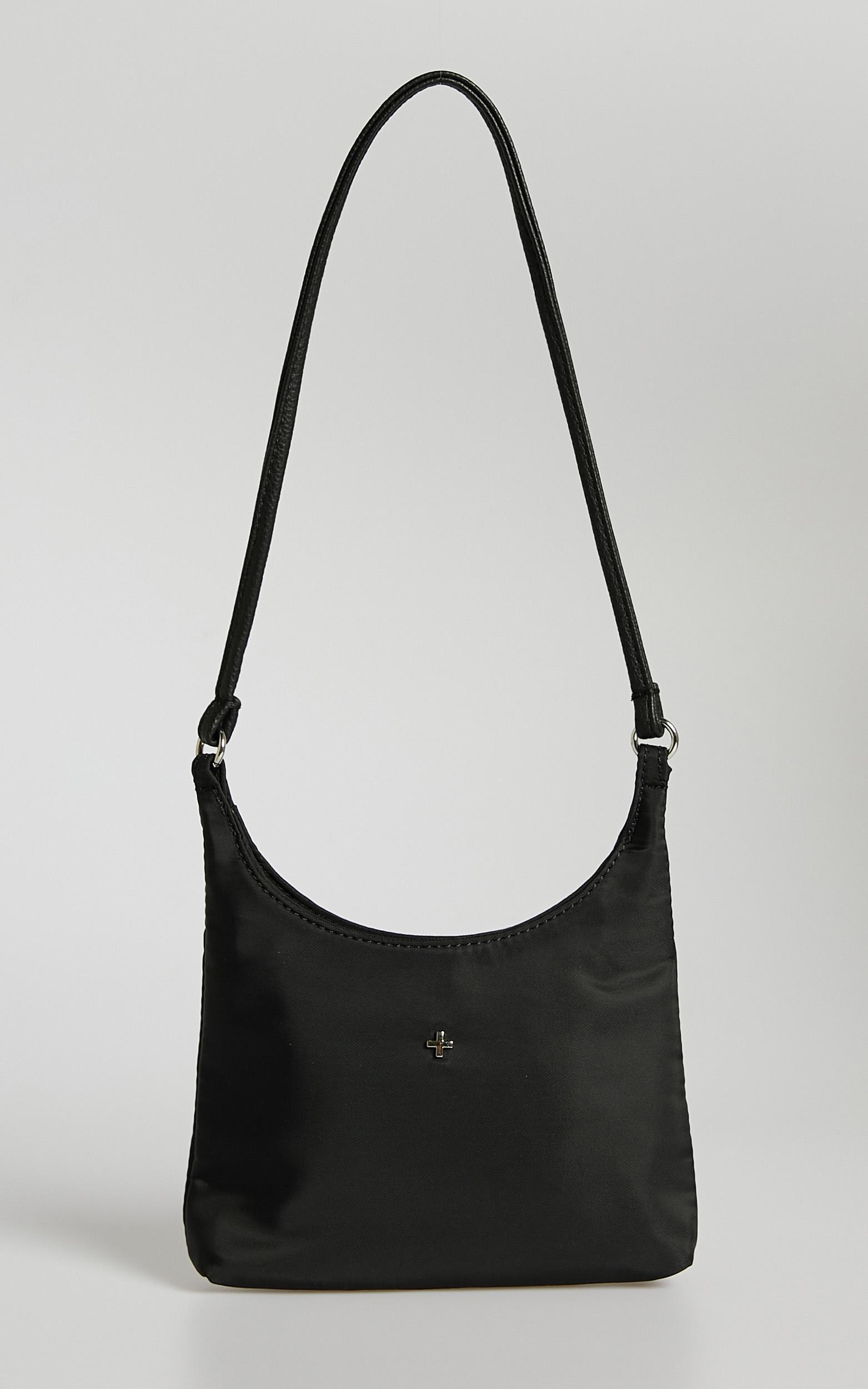 Peta and Jain - Padma Bag in Black Nylon, , hi-res image number null
