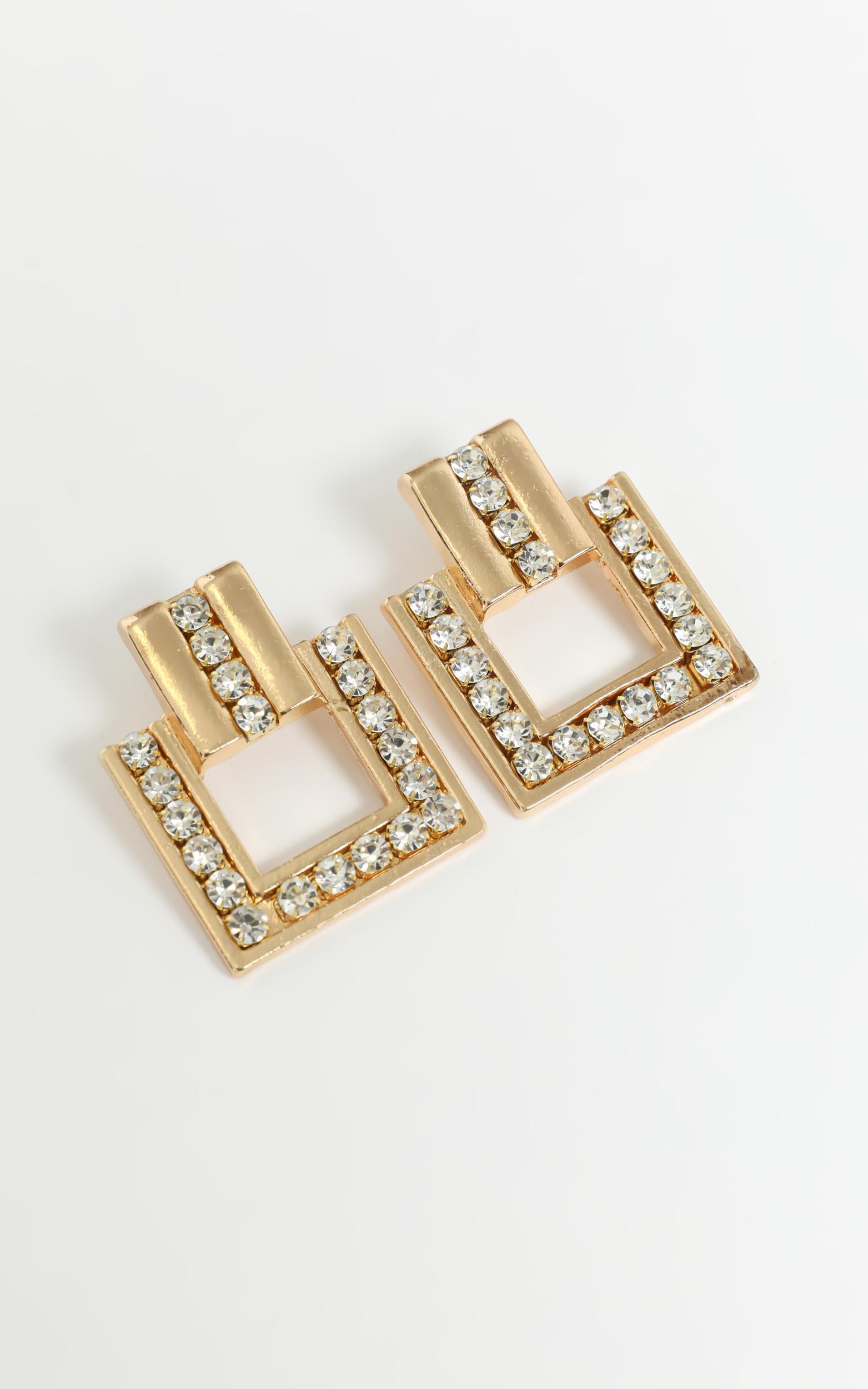 Yesenia Earrings in Gold, , hi-res image number null