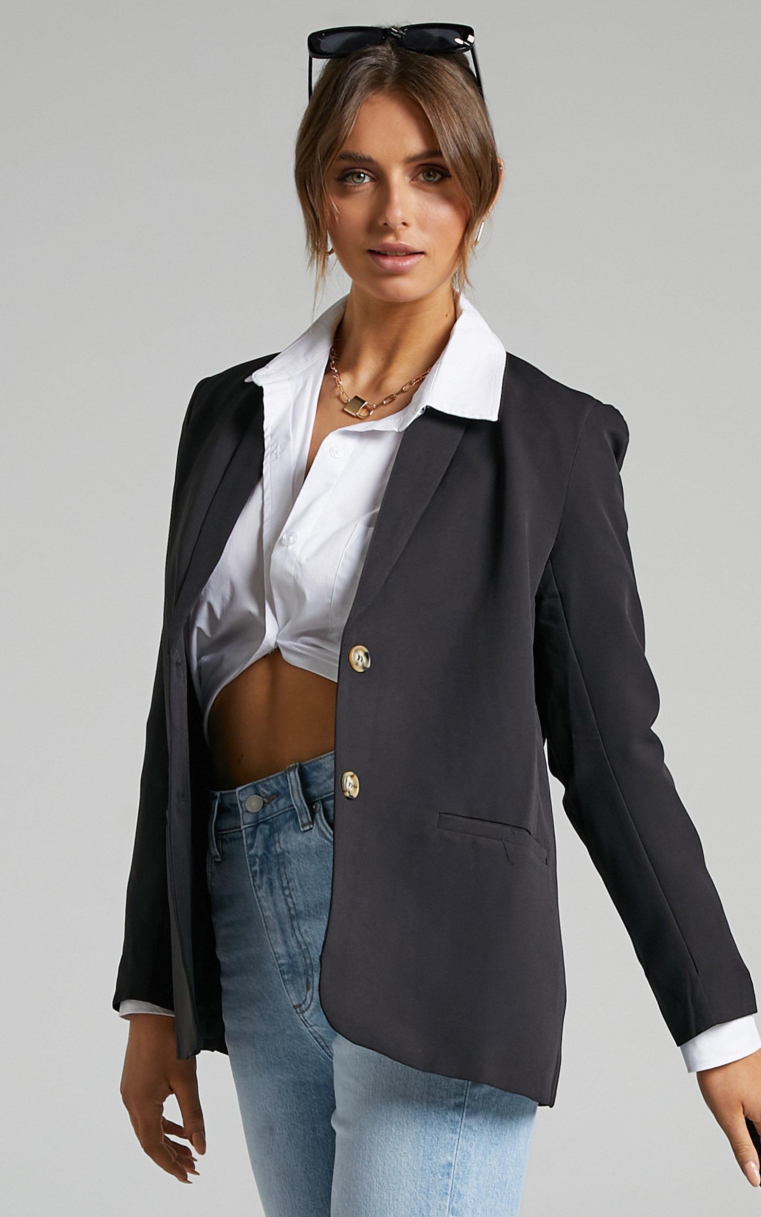 Miss Universe Blazer in Black - 06, BLK1, hi-res image number null