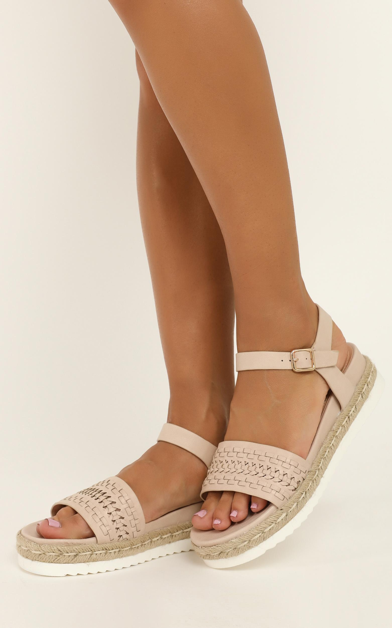 Verali - Disco Sandals in blush smooth - 10, Blush, hi-res image number null