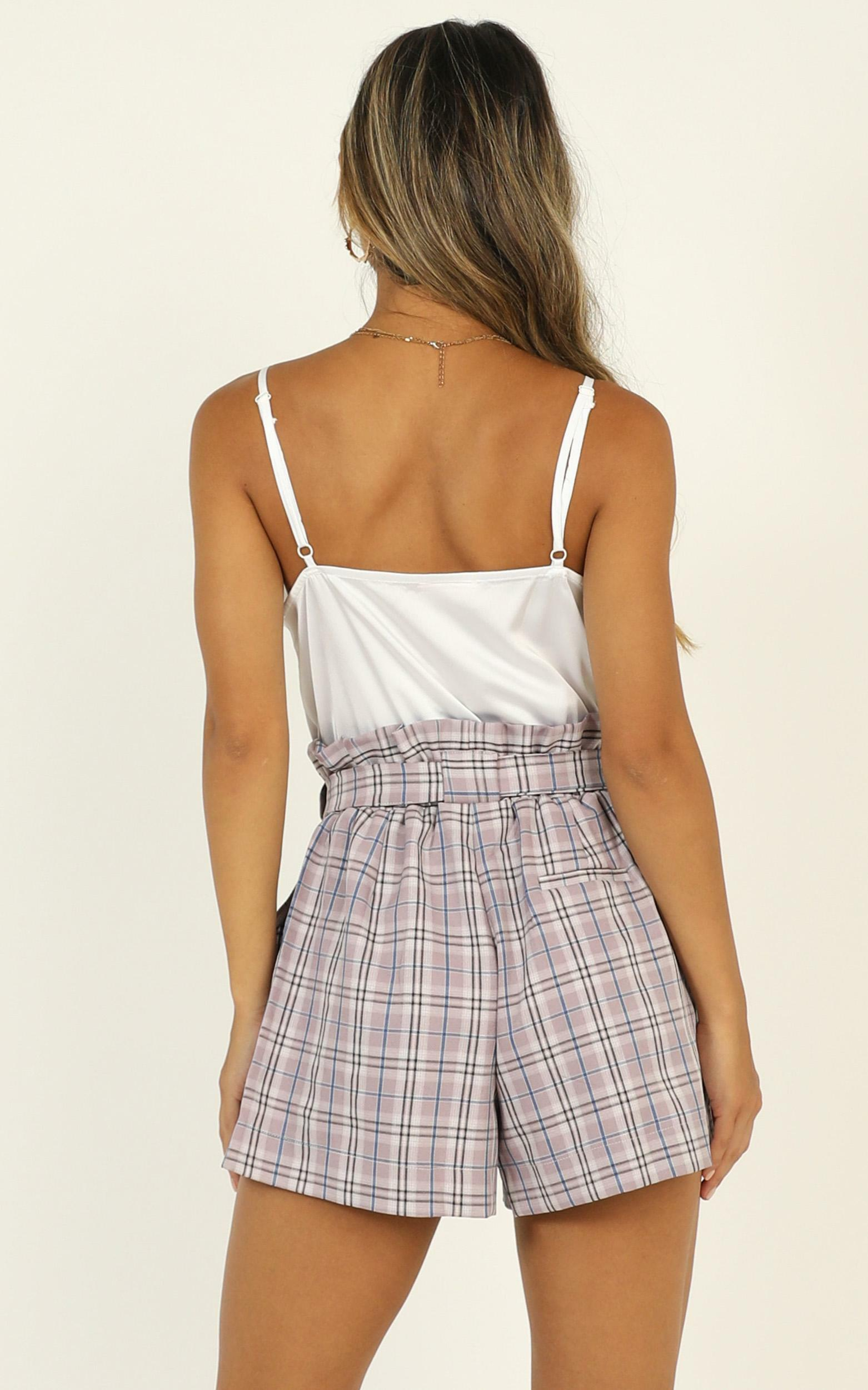 All Rounder Shorts in lilac check - 6 (XS), PRP2, hi-res image number null