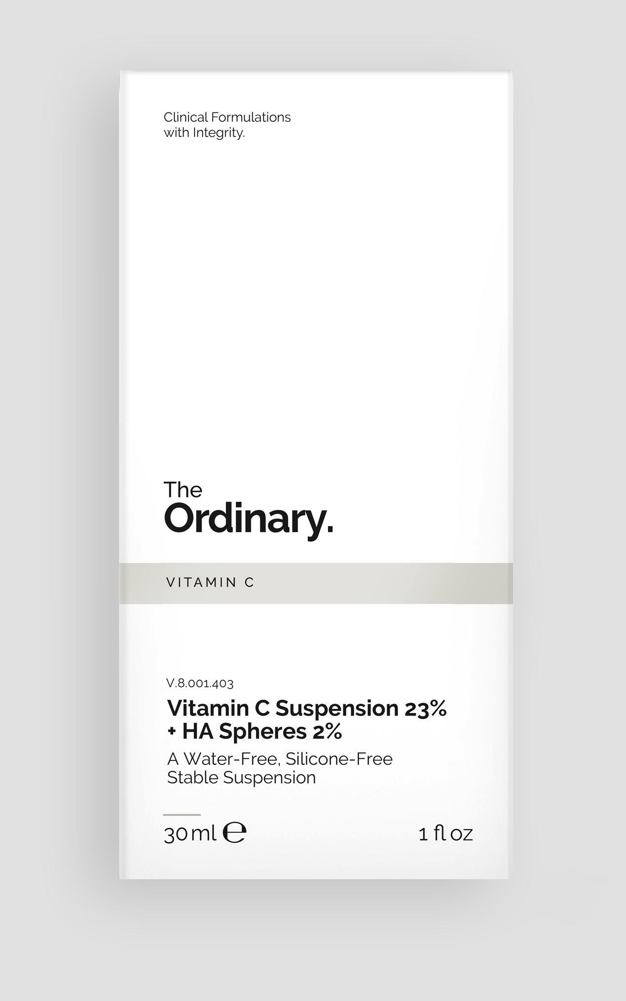 The Ordinary - Vitamin C Suspension 23% + HA Spheres 2% - 30ml , GRY3, hi-res image number null