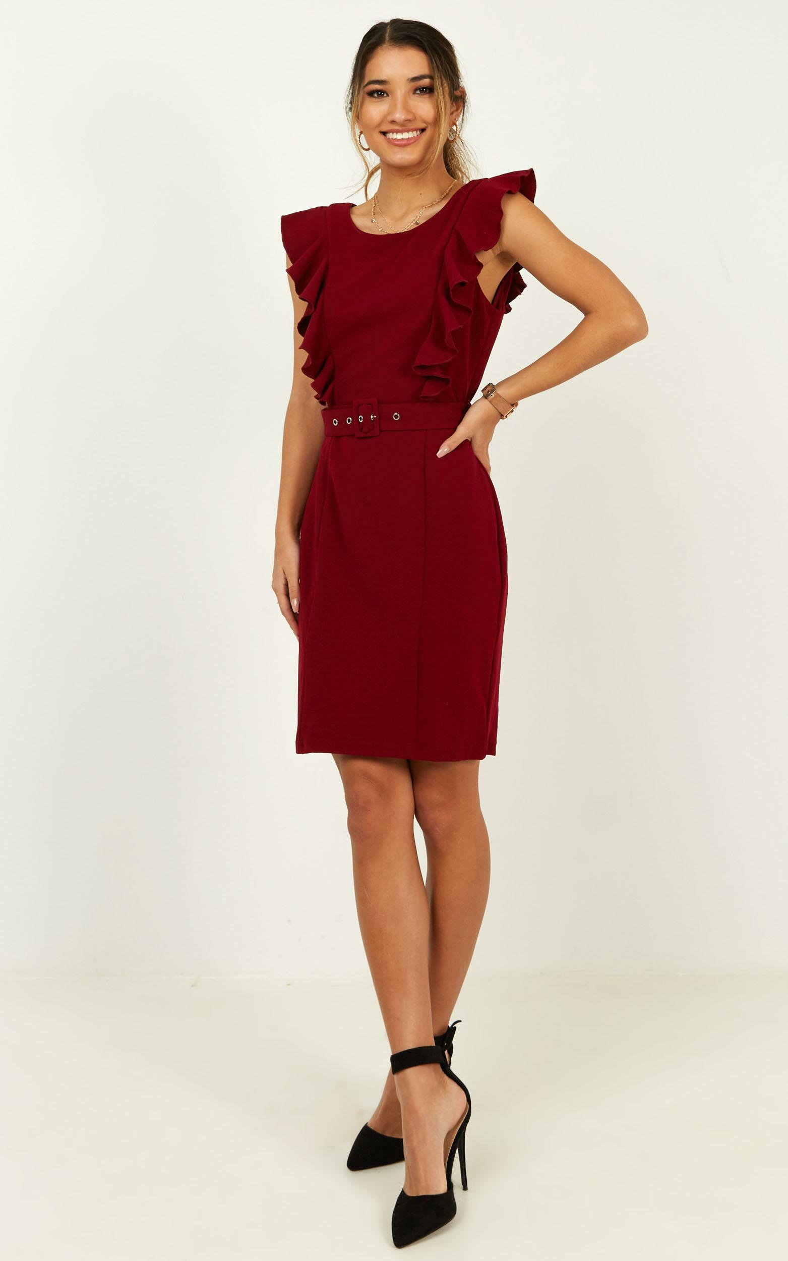 Project Master Dress in wine - 20 (XXXXL), Wine, hi-res image number null