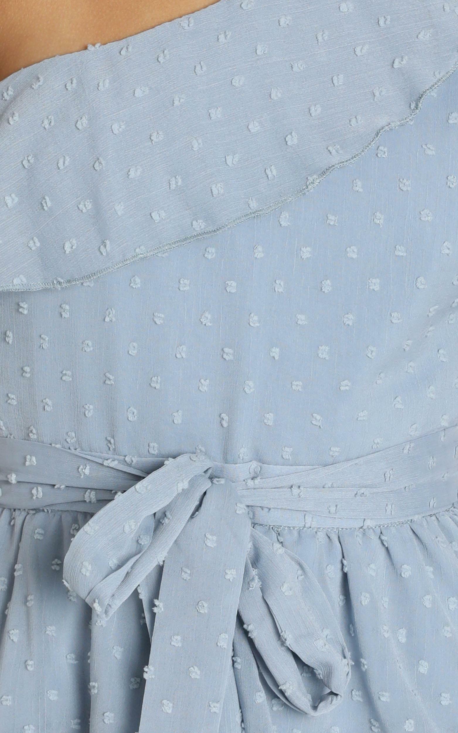 Darling I Am A Daydream Dress in powder blue - 20 (XXXXL), Blue, hi-res image number null