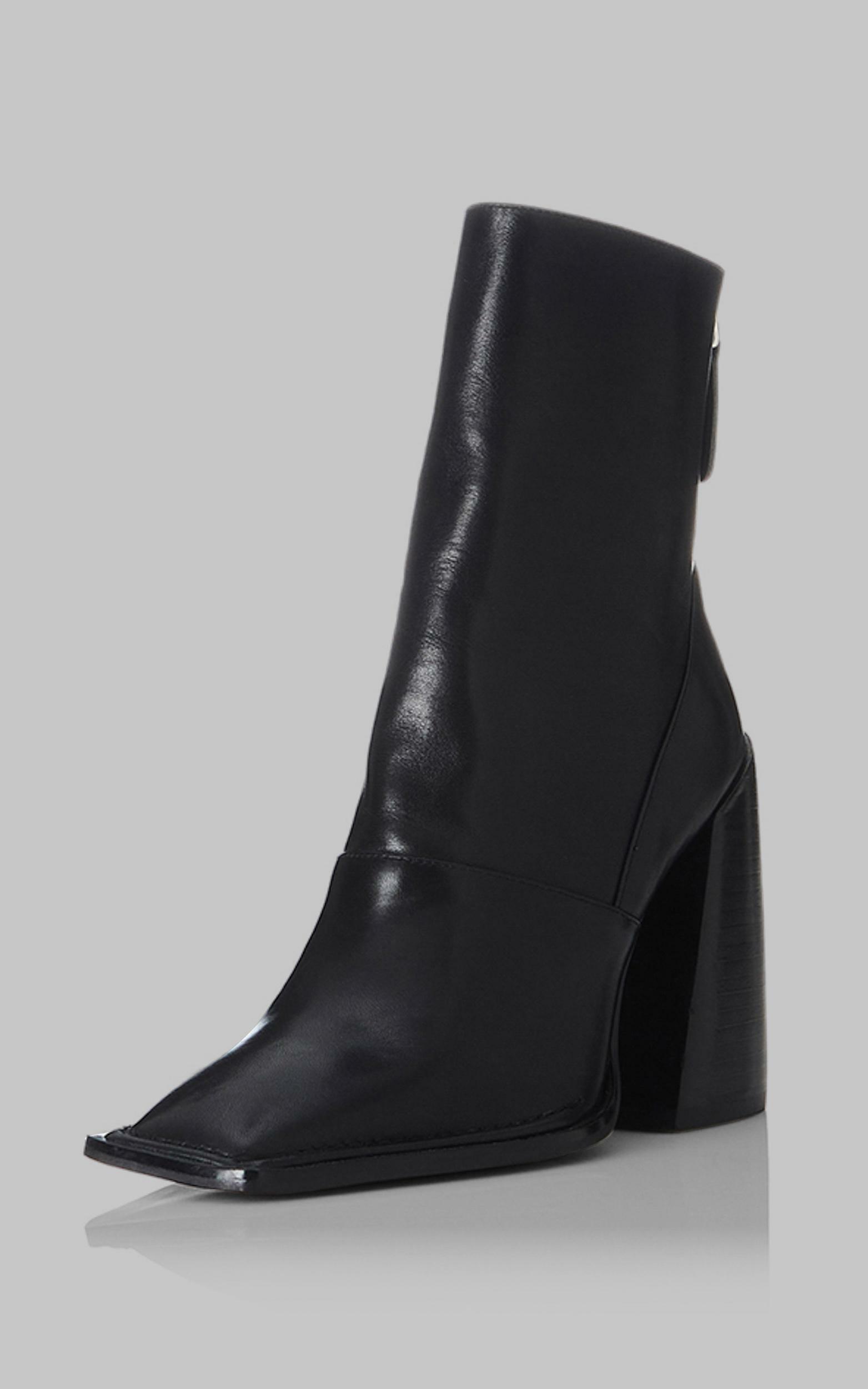 Alias Mae - Eden Boots in Black Burnished - 5.5, BLK2, hi-res image number null