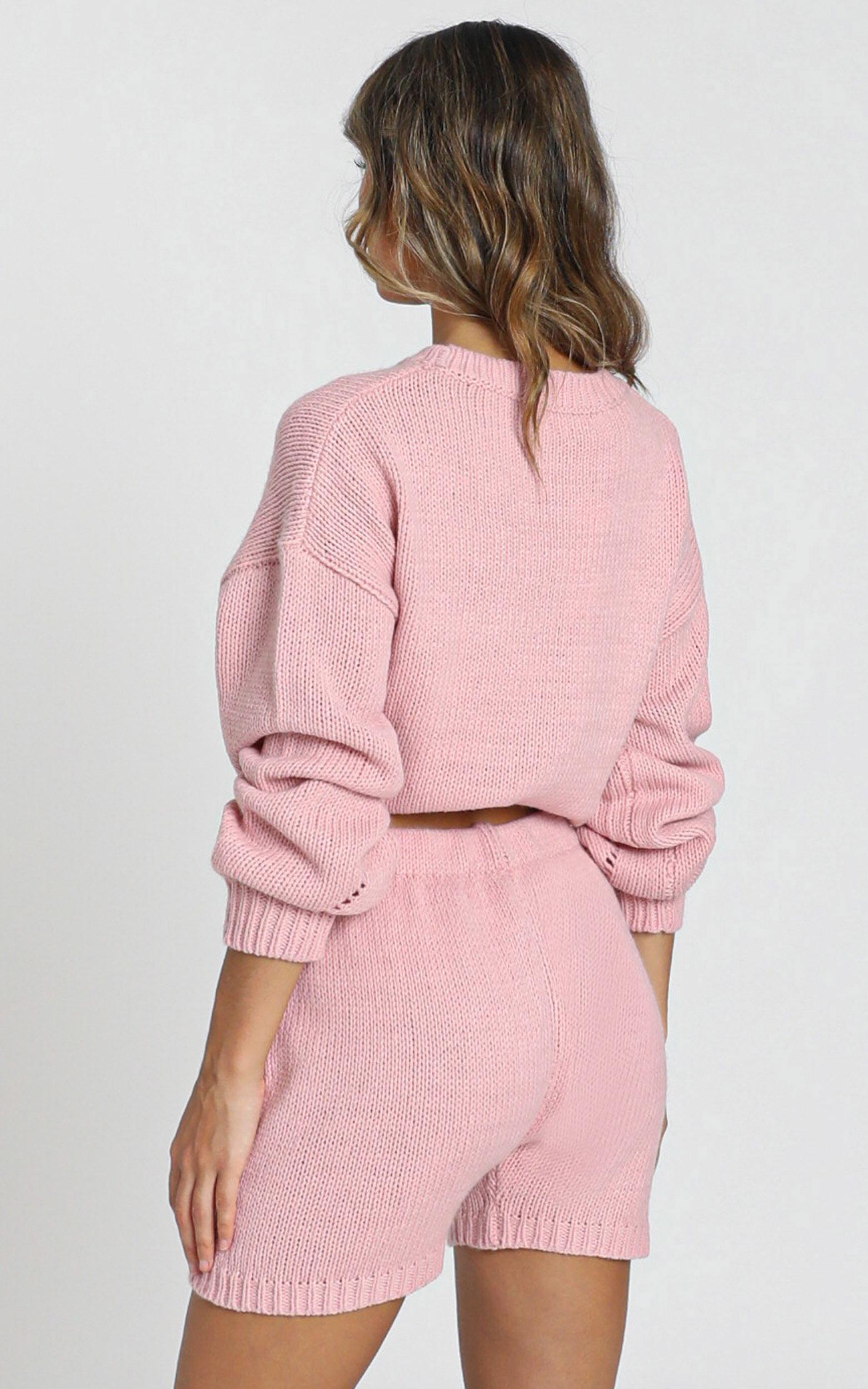 Loretta Knitted Shorts in rose - S, PNK1, hi-res image number null