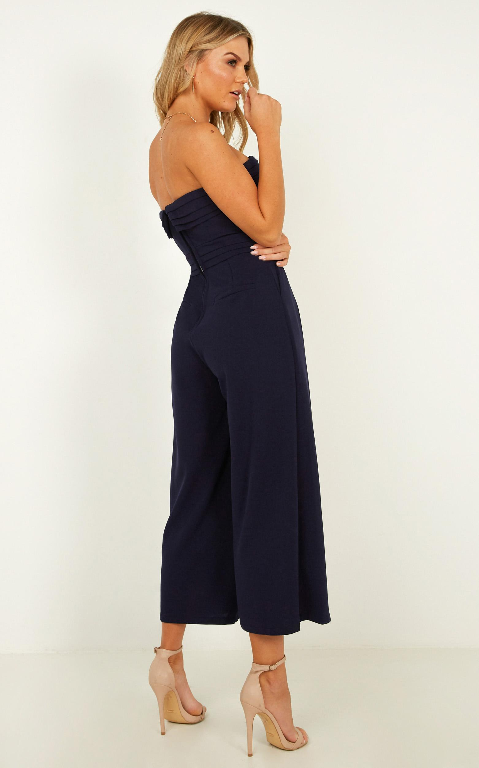 Up Ahead jumpsuit in navy - 14 (XL), Navy, hi-res image number null