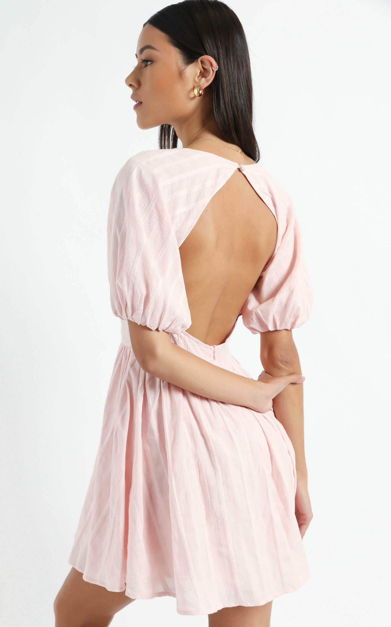 Cherie Dress in Blush - 6 (XS), Blush, hi-res image number null