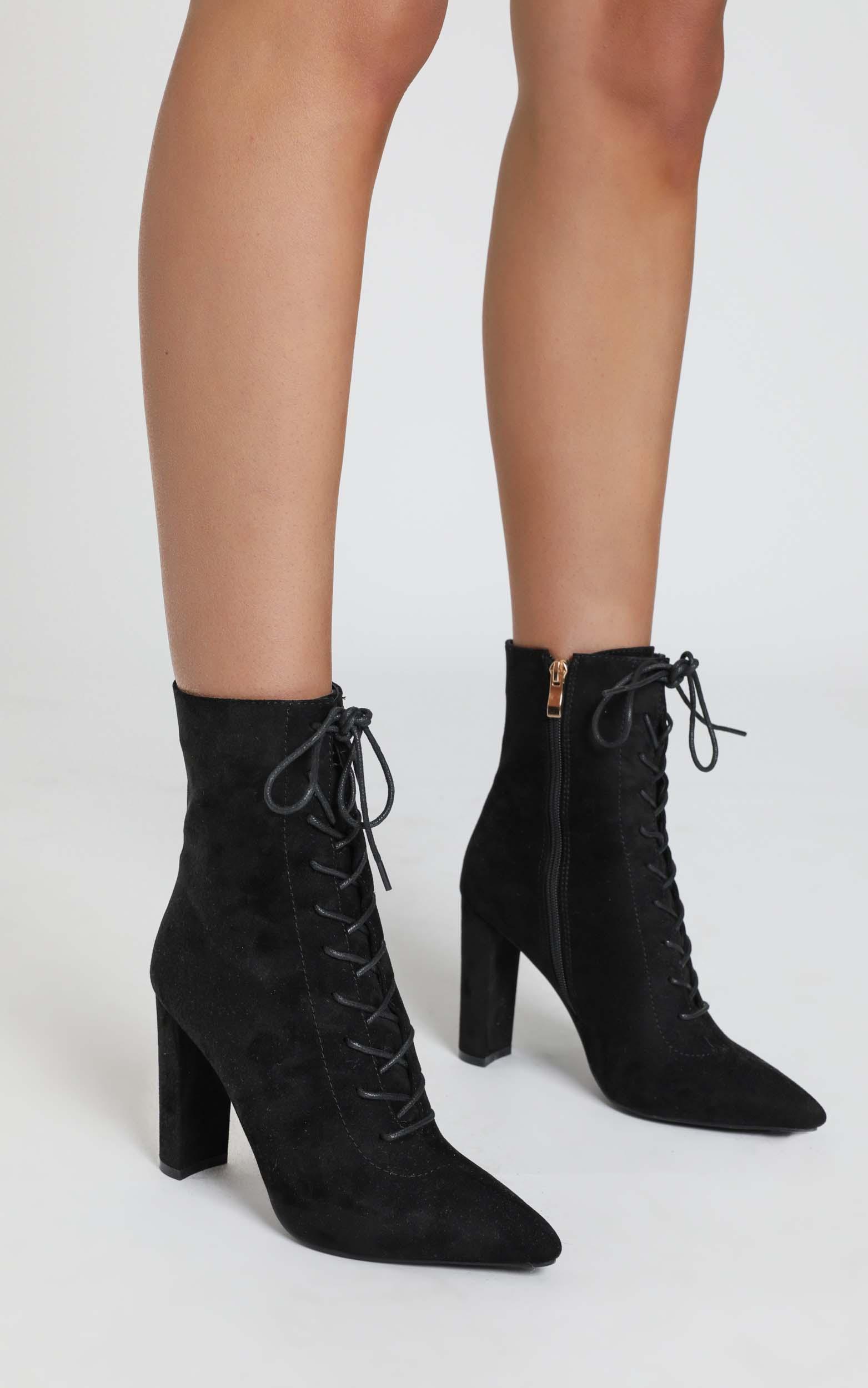 Billini - Kassia Boots in black micro - 5, Black, hi-res image number null