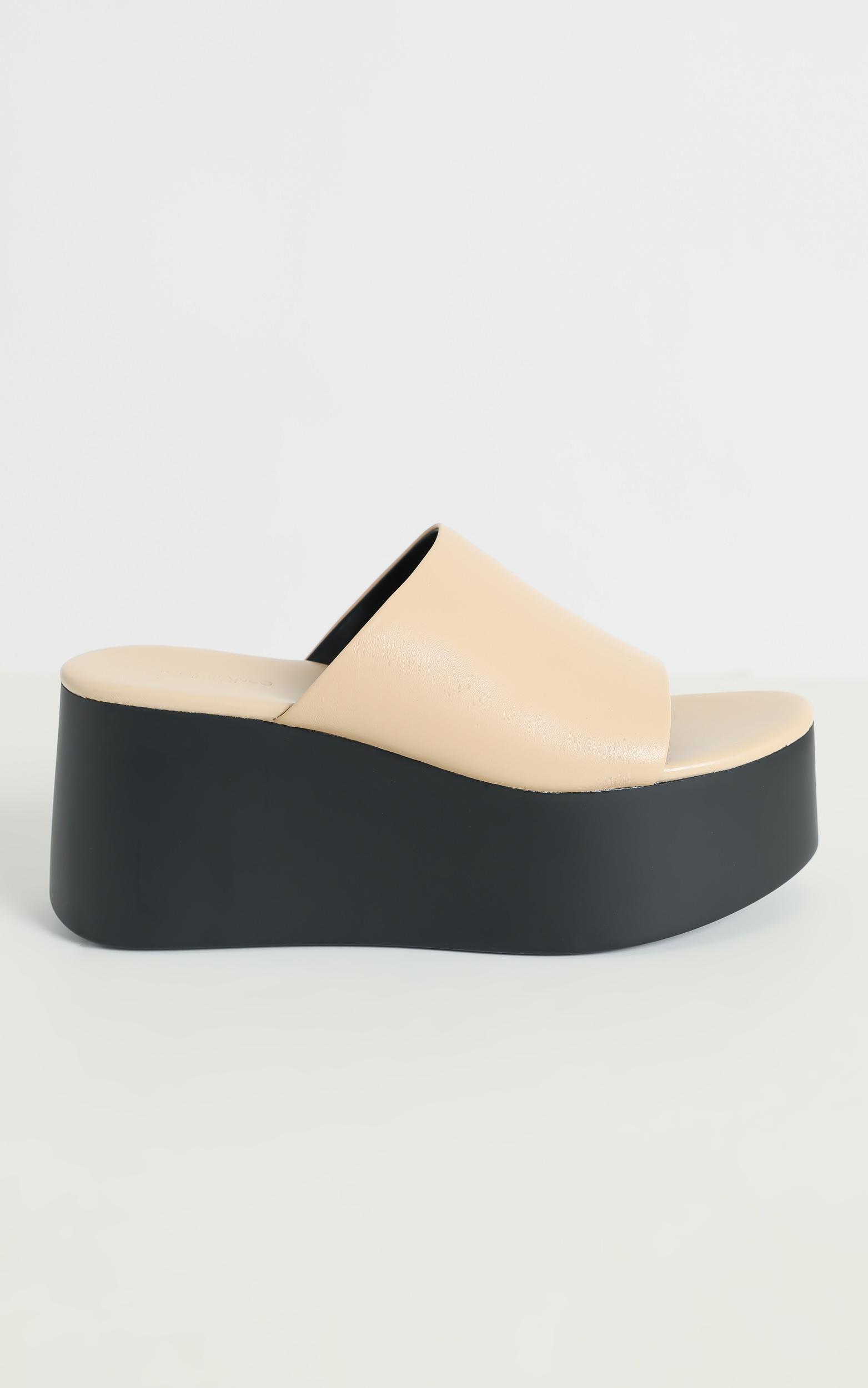 Tony Bianco - Tegan Sandals in Beech - 5, Brown, hi-res image number null