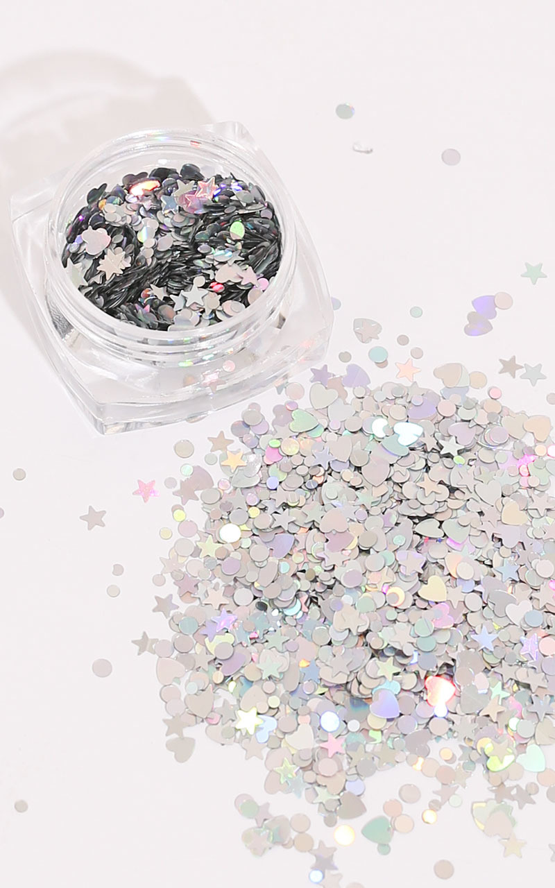 Constellation Sparkles in holographic silver, , hi-res image number null