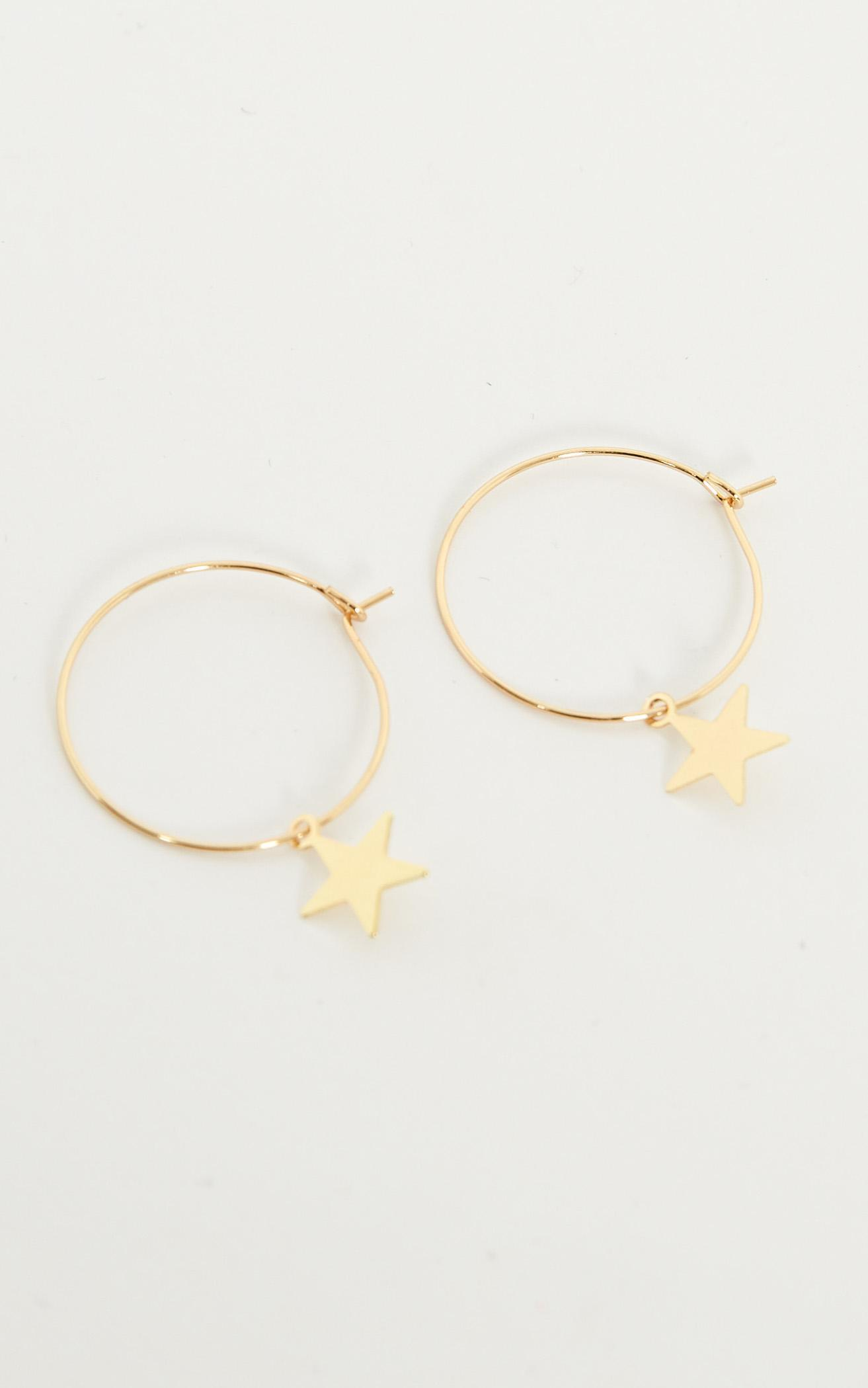 Follow Up Earrings in Gold, , hi-res image number null