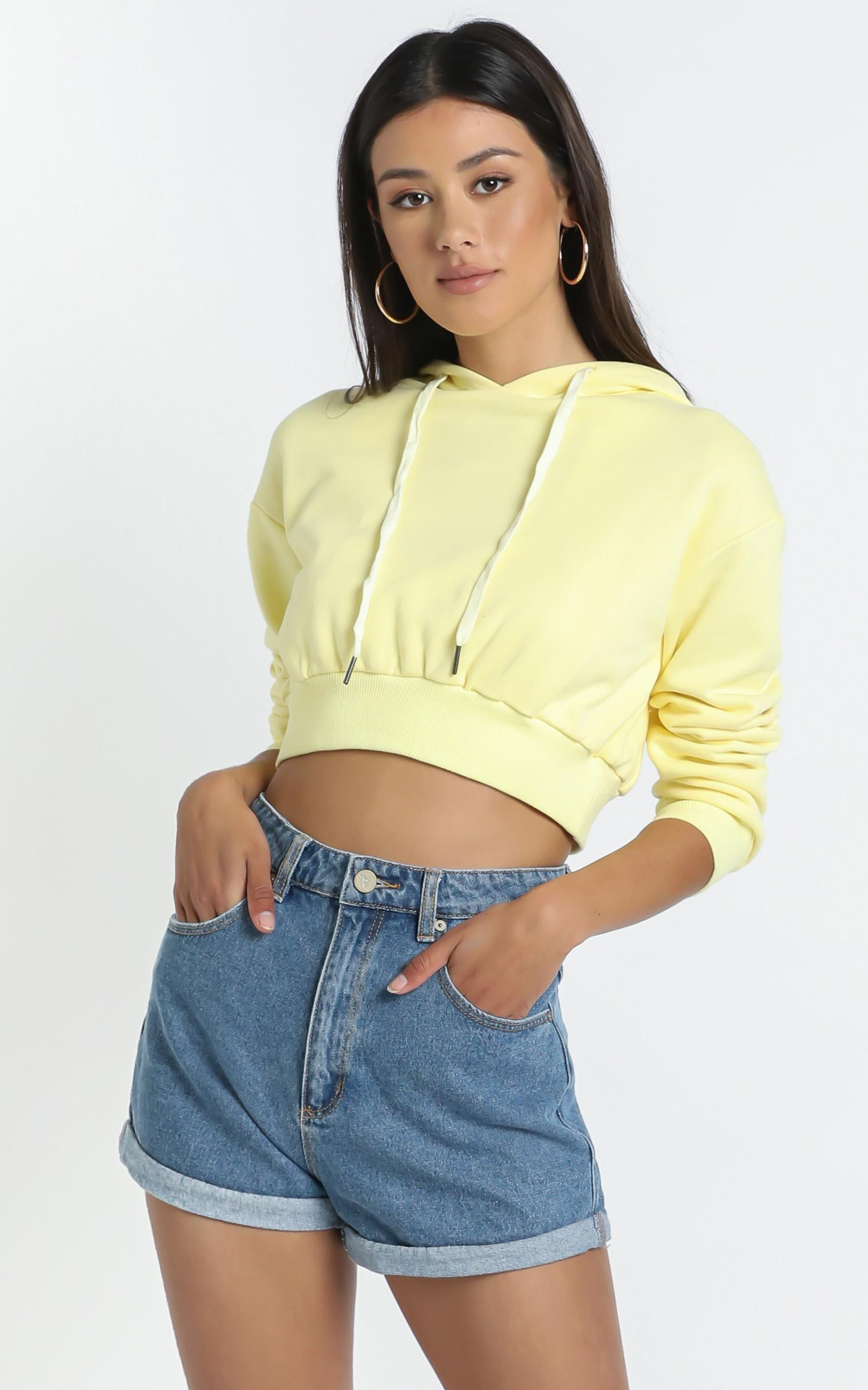 Martigues Hoodie in Yellow - 14 (XL), Yellow, hi-res image number null