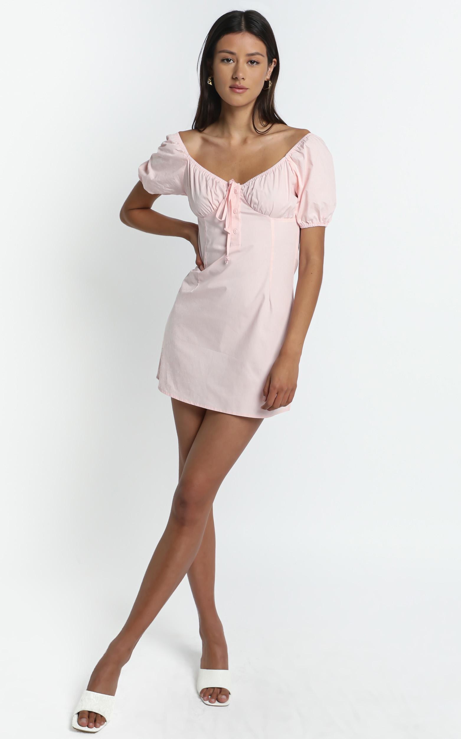 Coulson Dress in Pink - 8 (S), Pink, hi-res image number null