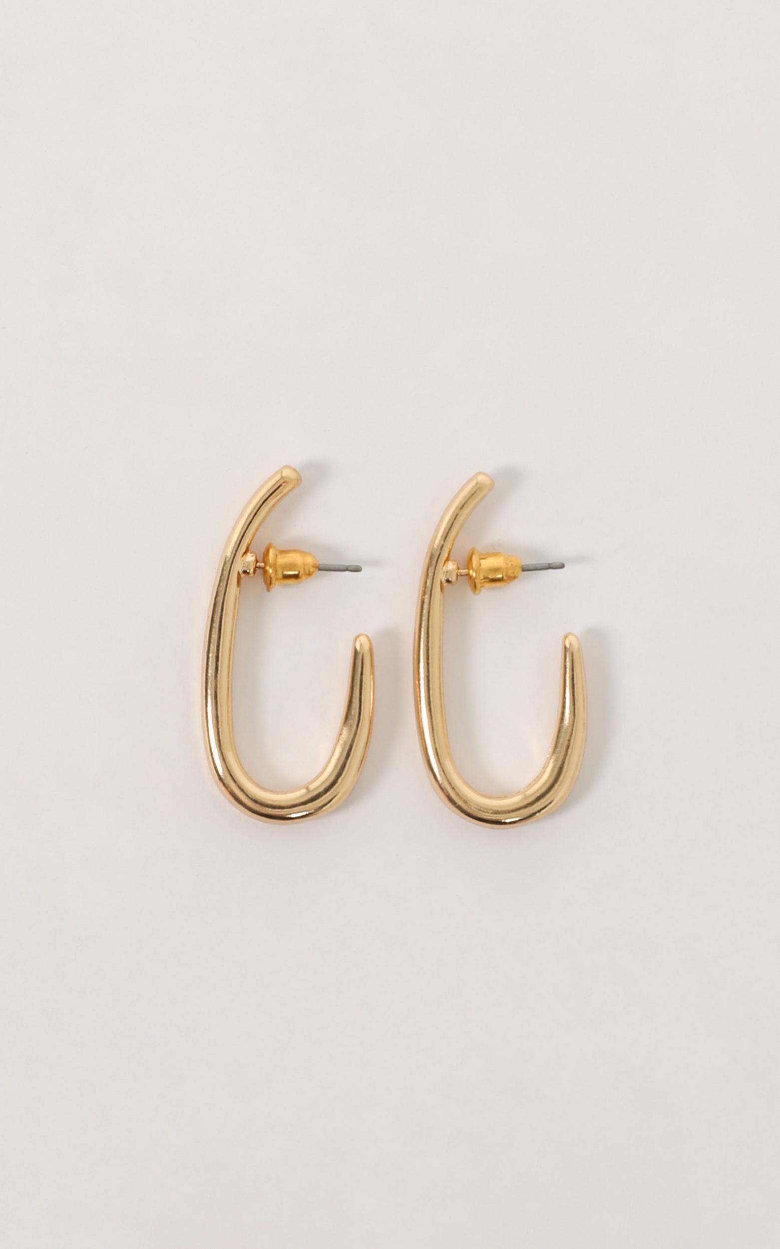 Truth Hurts Earrings In Gold, , hi-res image number null