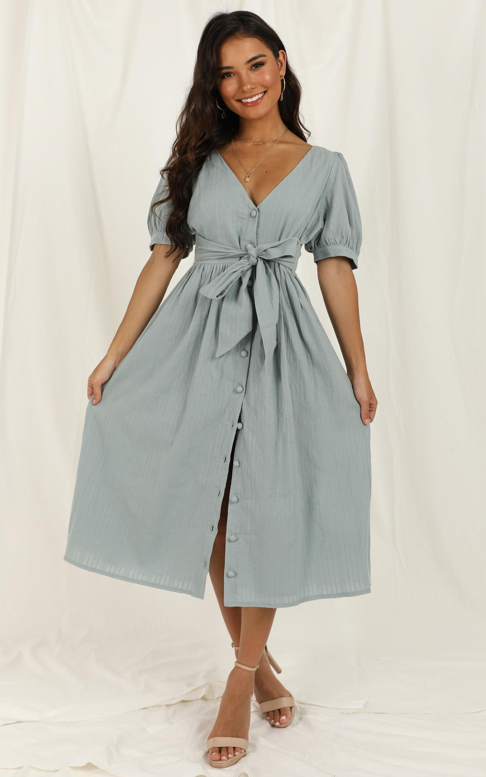 Free Therapy Dress in sage - 20 (XXXXL), Sage, hi-res image number null