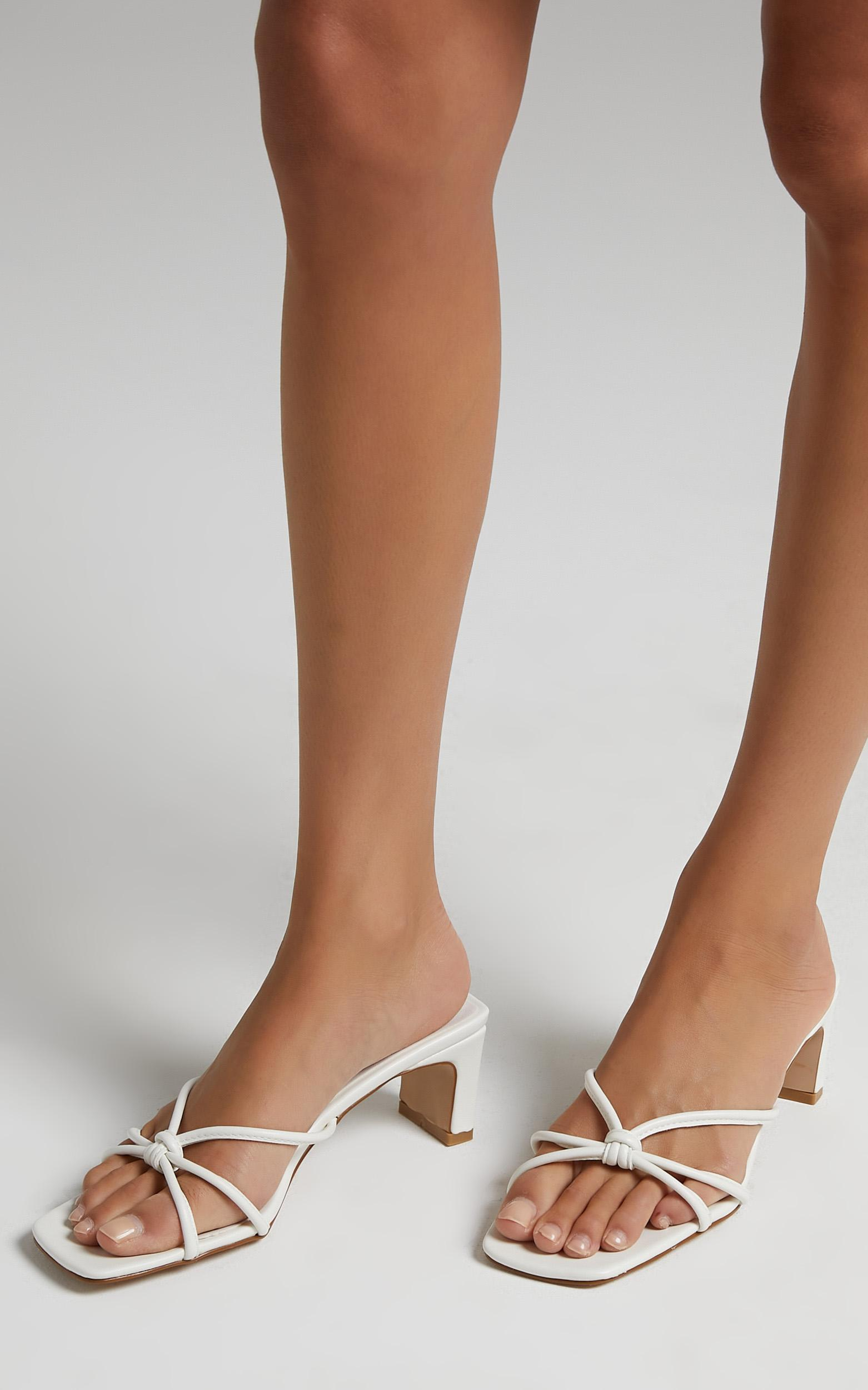 Billini - Grace Heels in White - 5, White, hi-res image number null