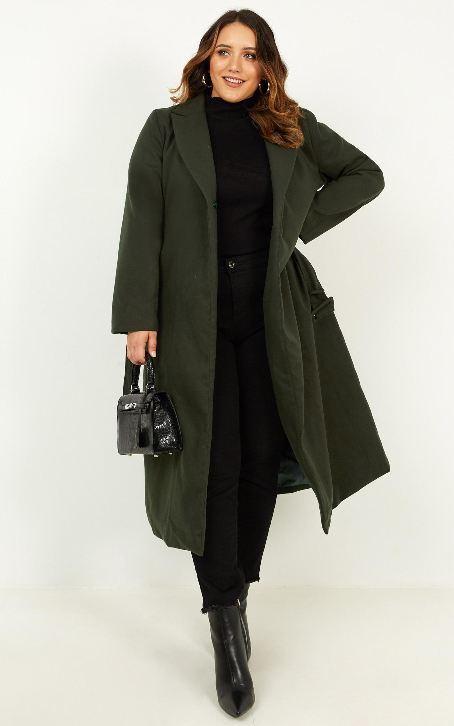Green with Envy Coat in forest green - 16 (XXL), Green, hi-res image number null
