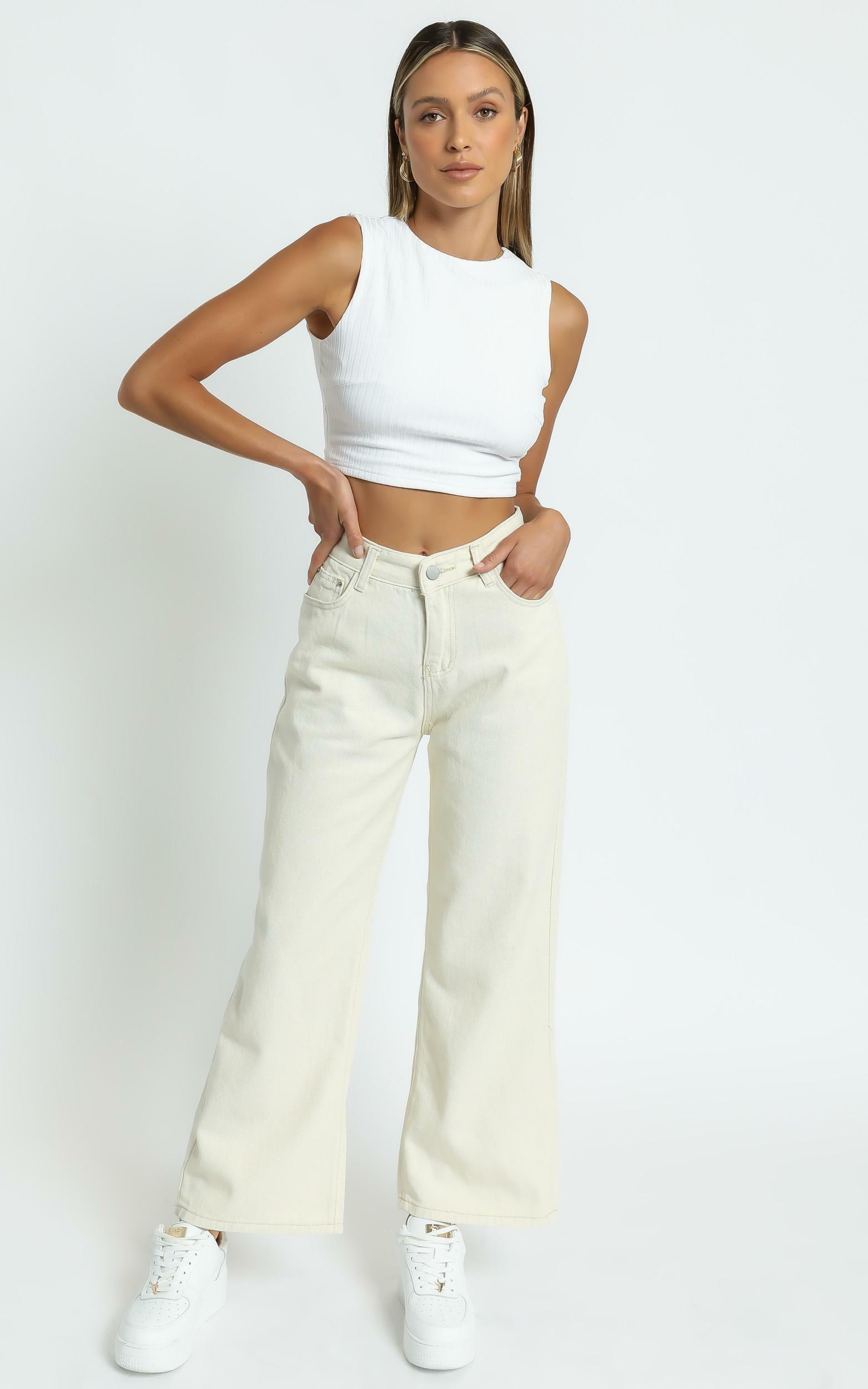 Nessie Top in White - 6 (XS), White, hi-res image number null