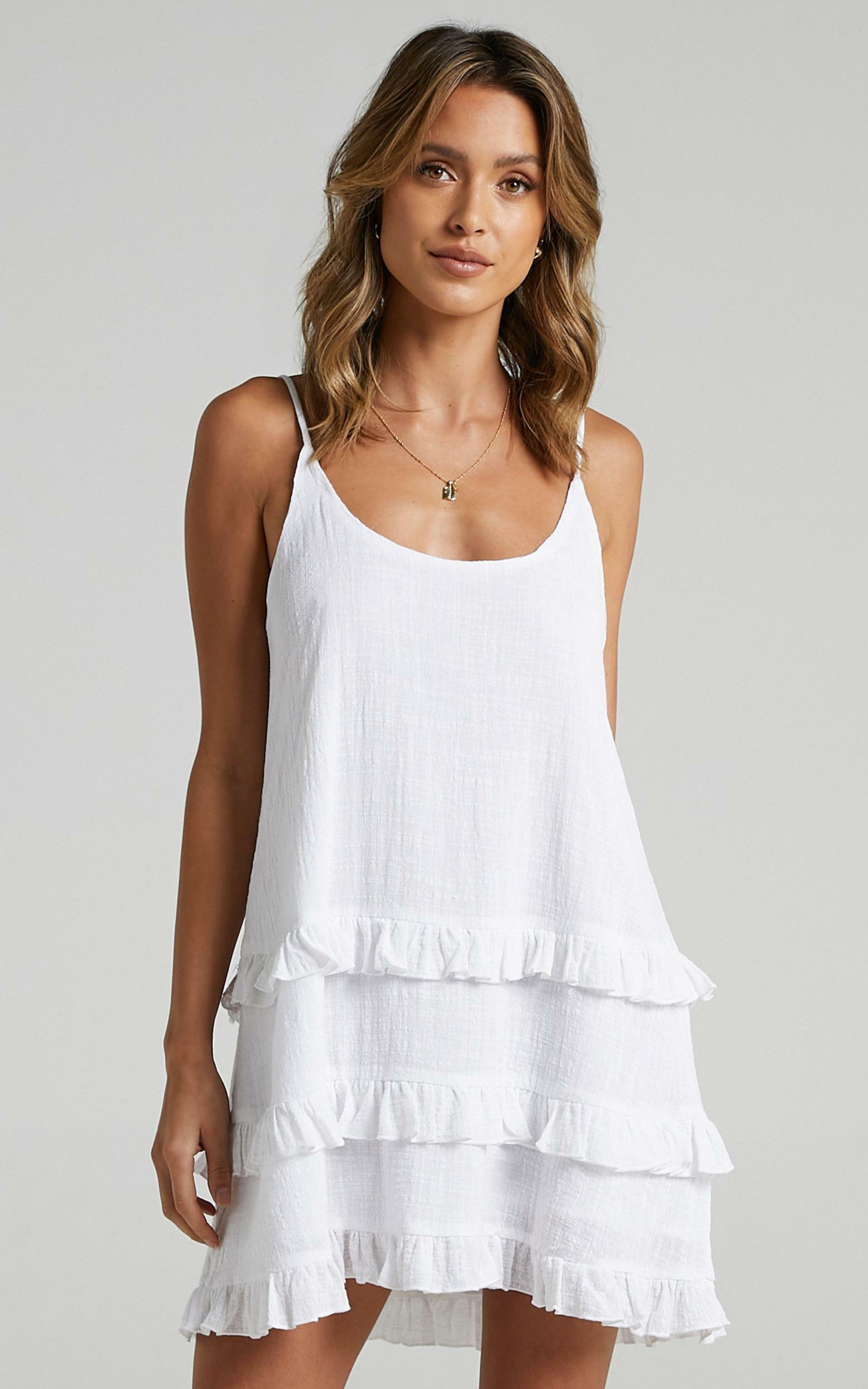 Long Reflections Dress in White - 20, WHT5, hi-res image number null