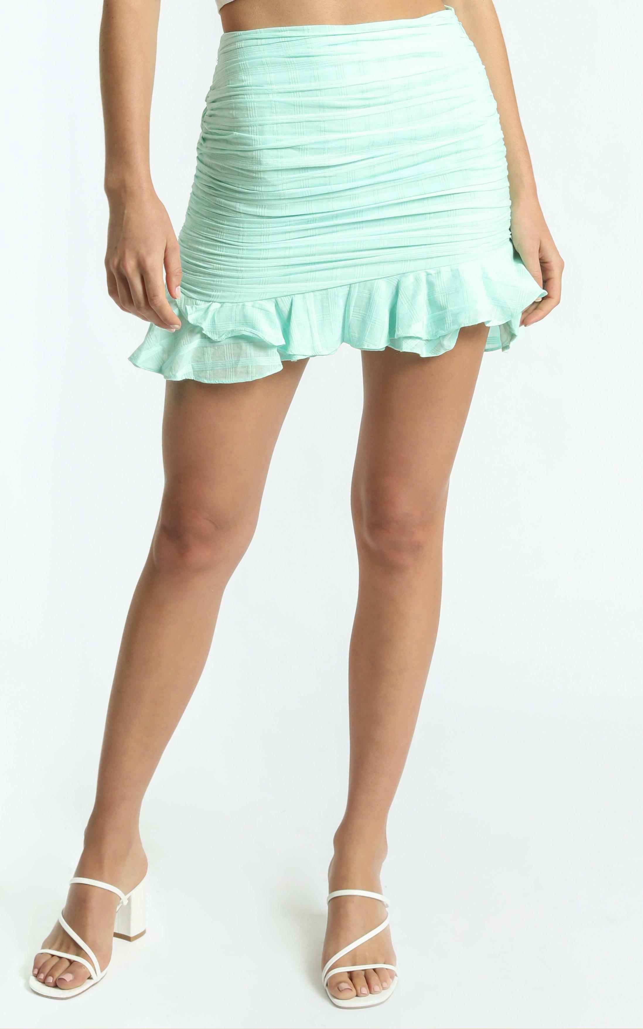 Bene Skirt in Mint - 06, GRN1, hi-res image number null