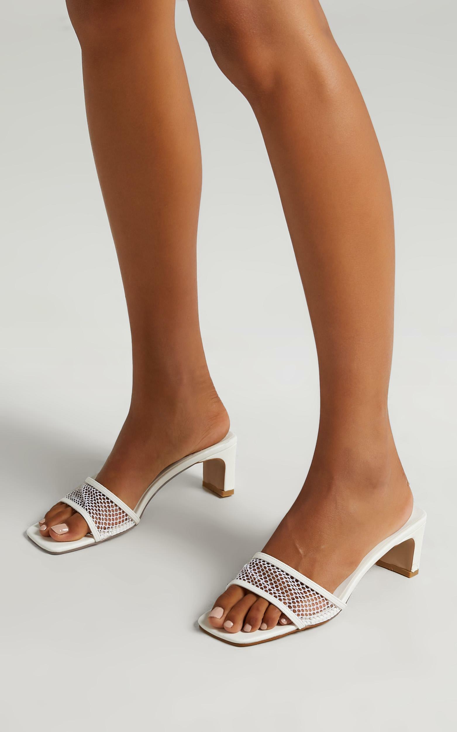 Billini - Gatton Heels in White - 5, White, hi-res image number null