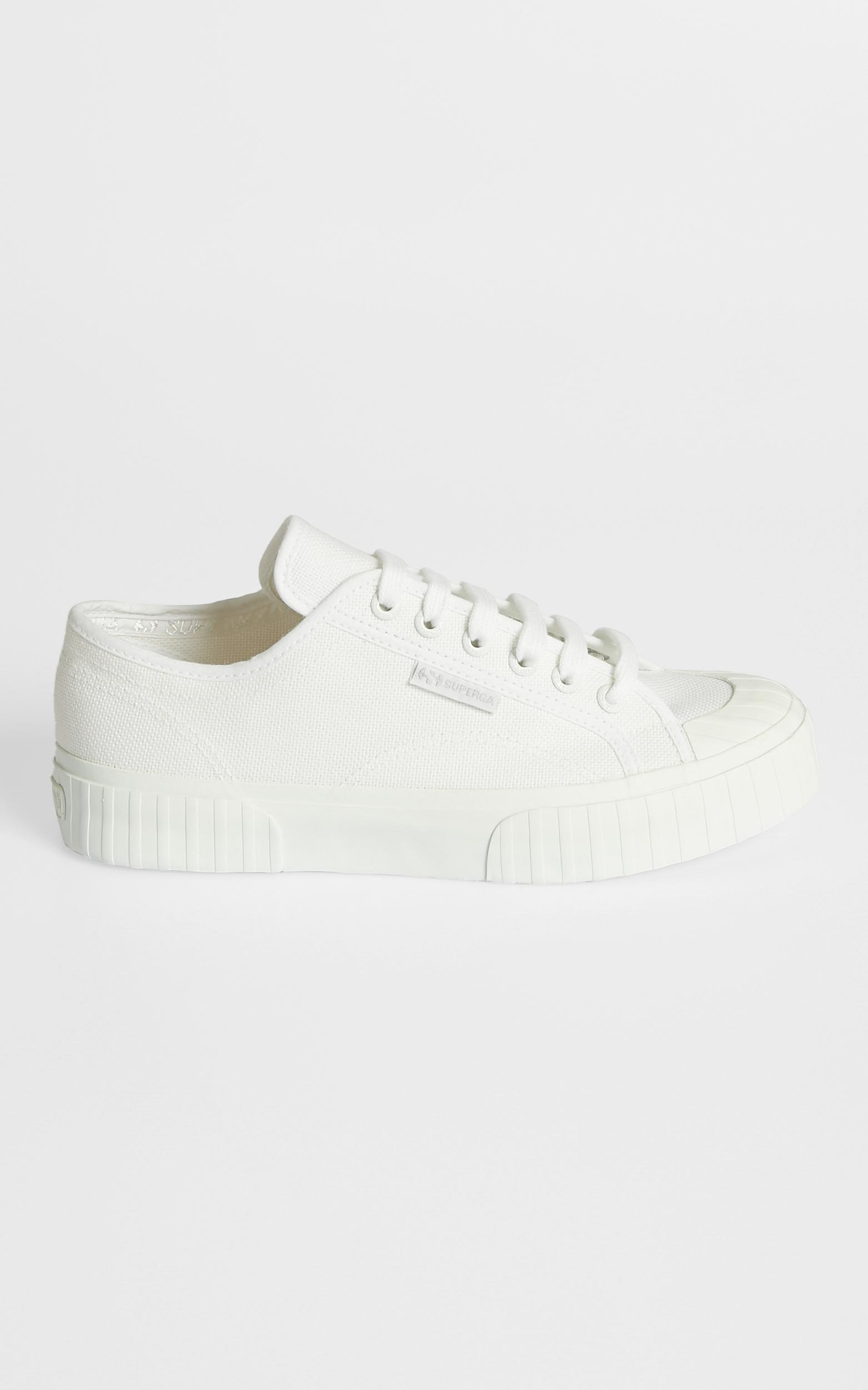 Superga - 2630 Cotu Sneakers in Total White - 5, White, hi-res image number null