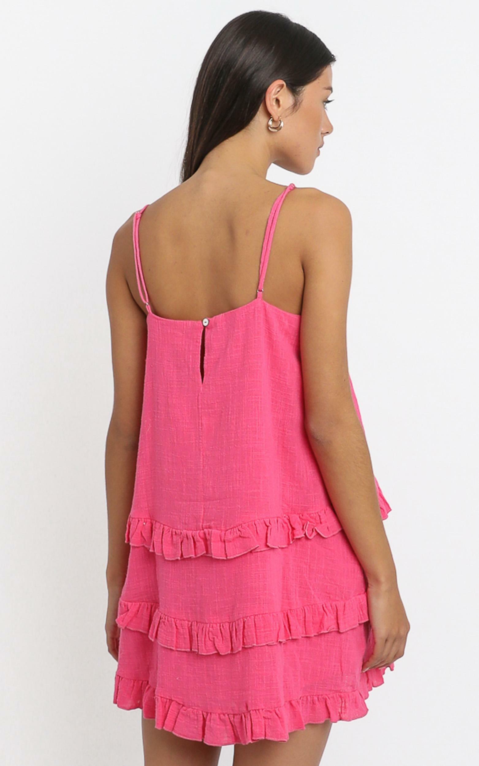 Long Reflections Dress in hot pink - 6 (XS), Pink, hi-res image number null