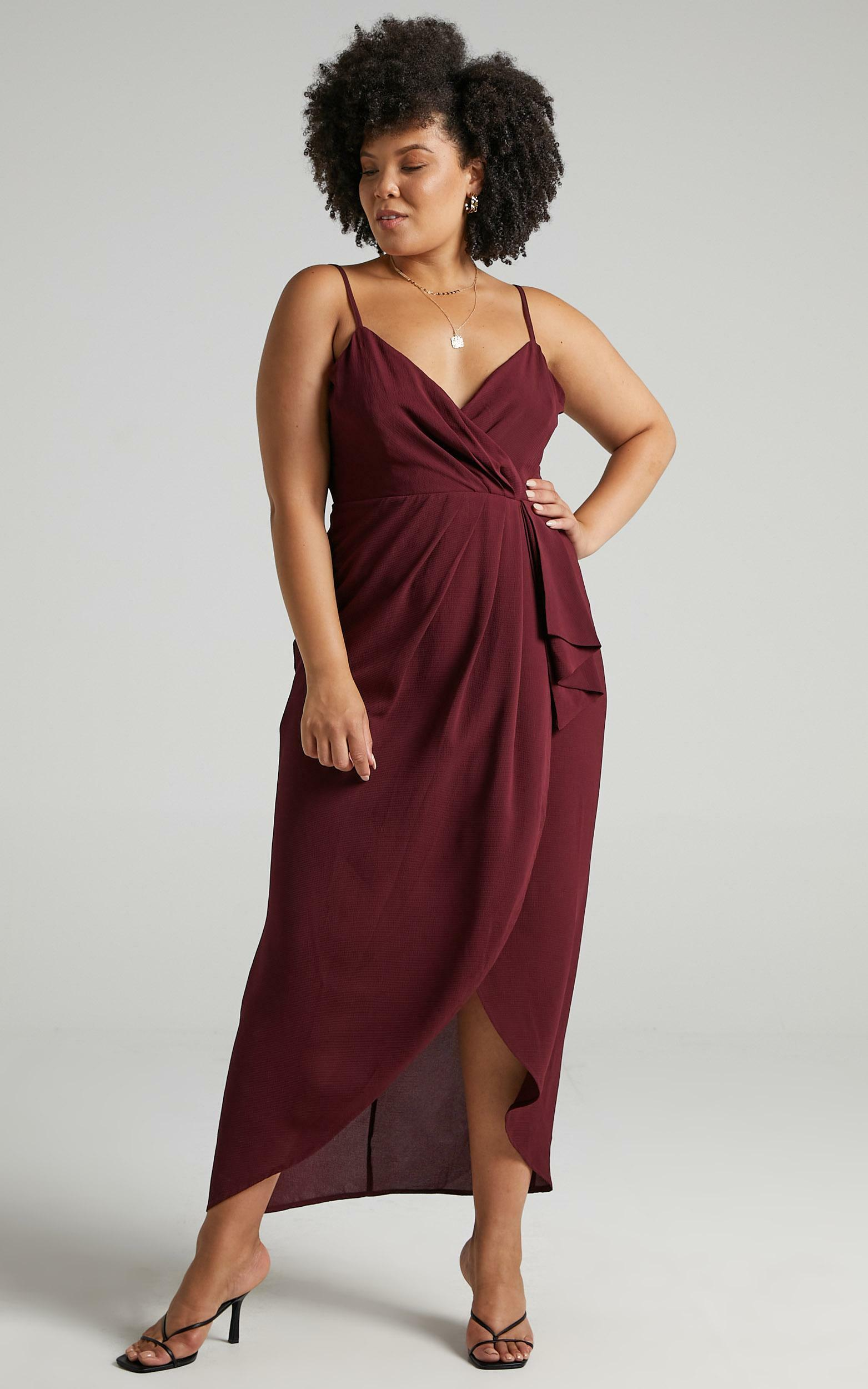 Gave Me You Dress in Wine - 20, WNE7, hi-res image number null