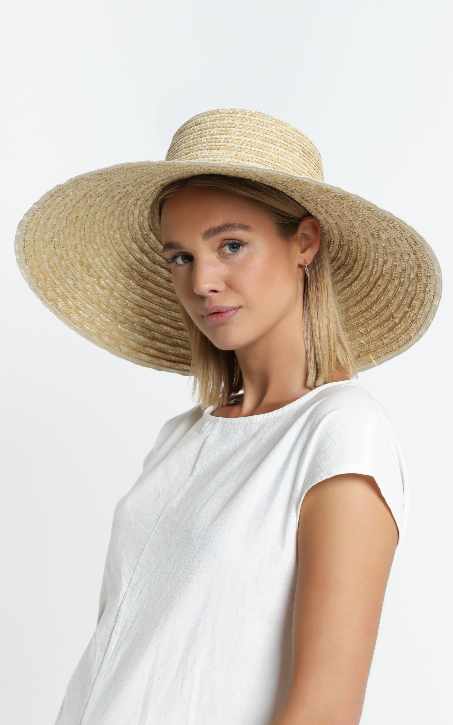 Charee Straw Hat , , hi-res image number null