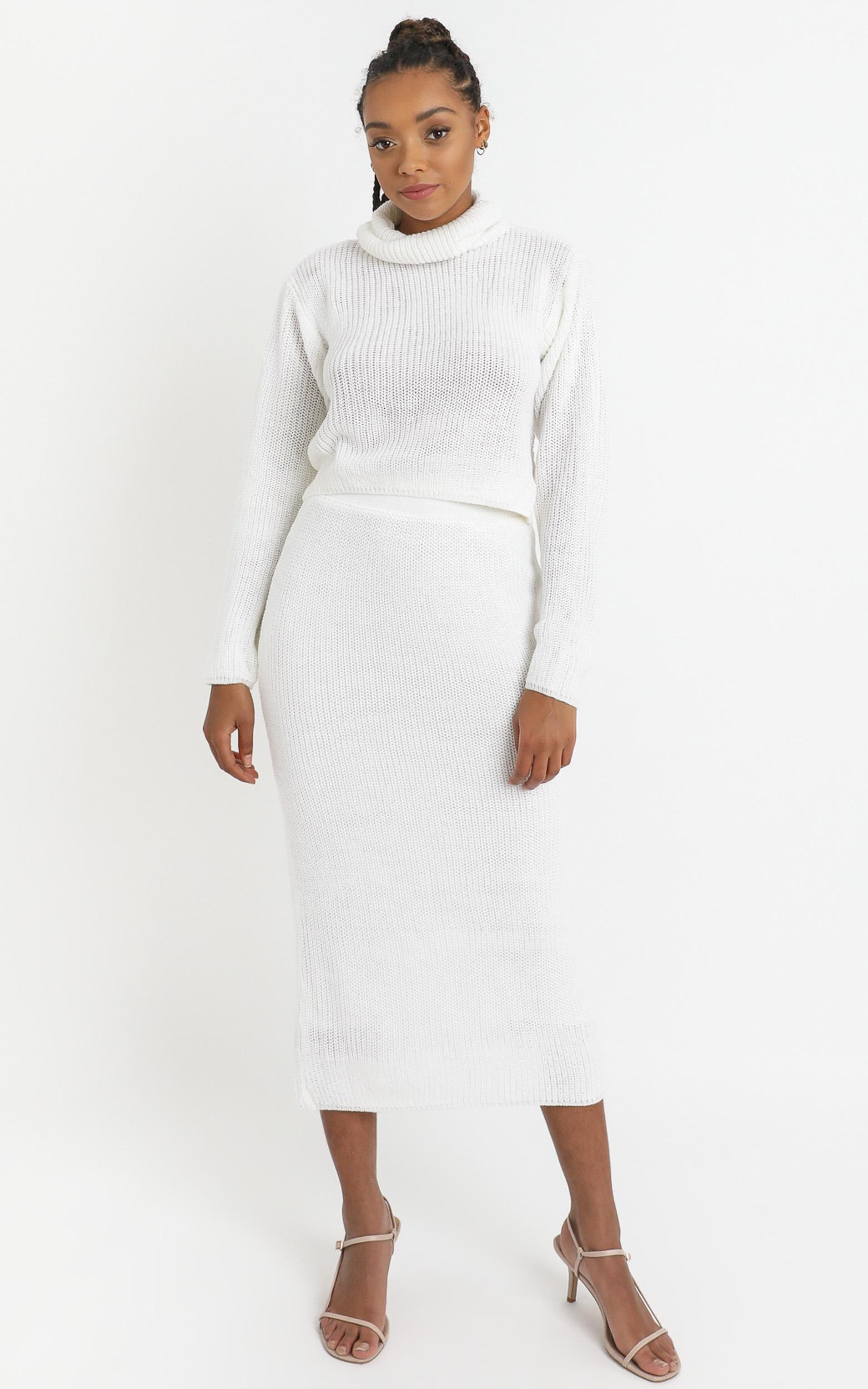 Edwynna Jumper in White - 8 (S), White, hi-res image number null